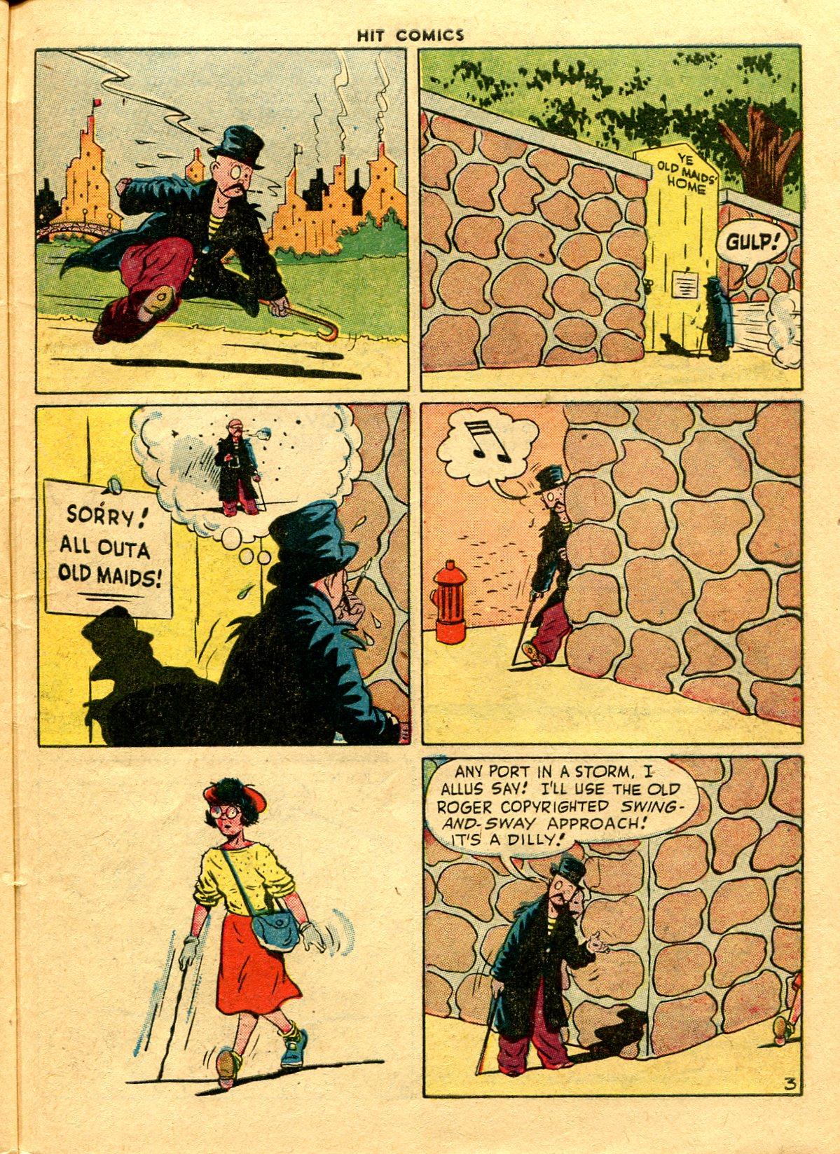 Read online Hit Comics comic -  Issue #48 - 41