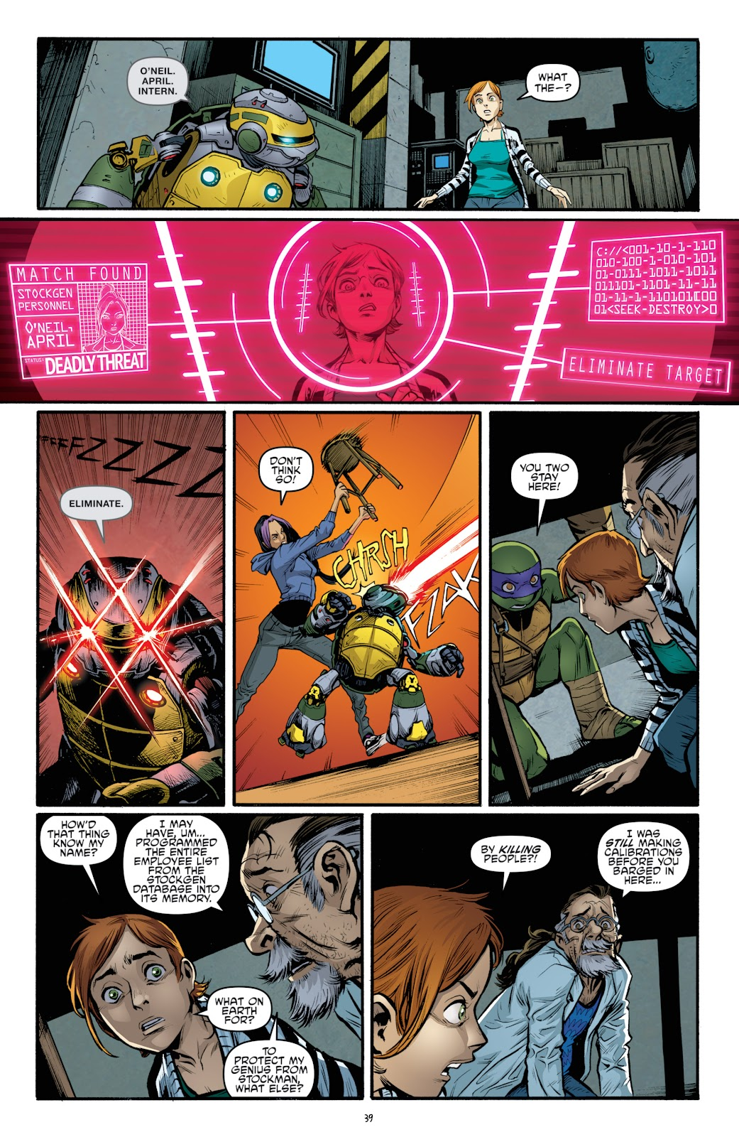 Read online Teenage Mutant Ninja Turtles: The IDW Collection comic -  Issue # TPB 4 (Part 3) - 47