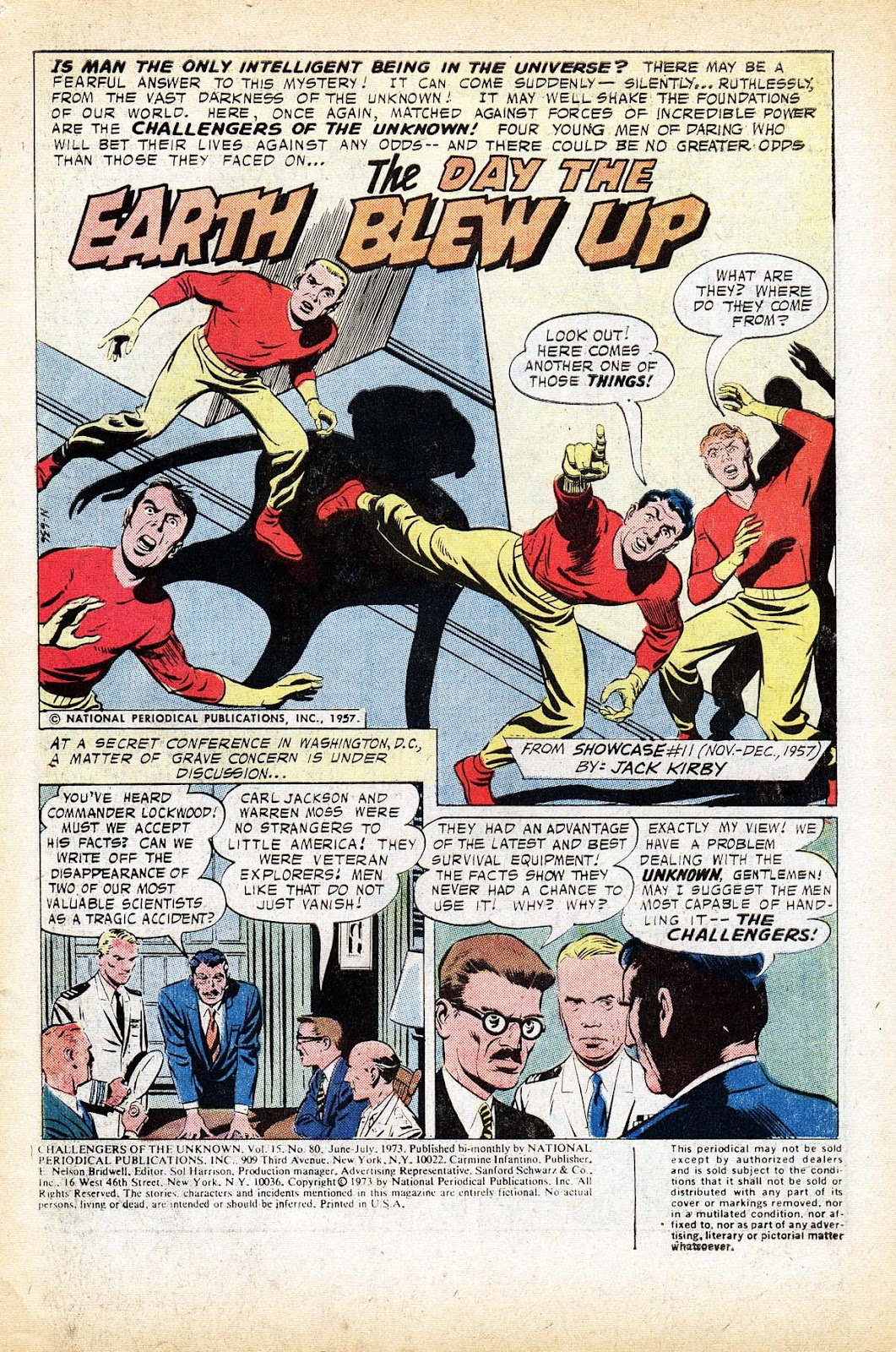 Challengers of the Unknown (1958) issue 80 - Page 3