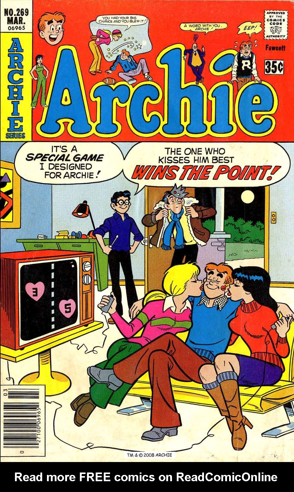 Read online Archie (1960) comic -  Issue #269 - 1