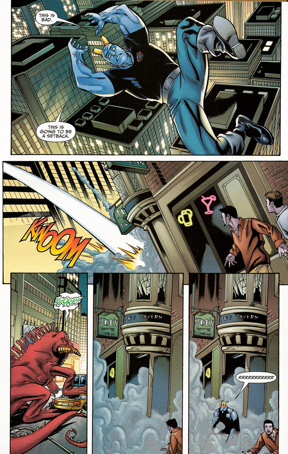 Read online Shadowpact comic -  Issue #4 - 25