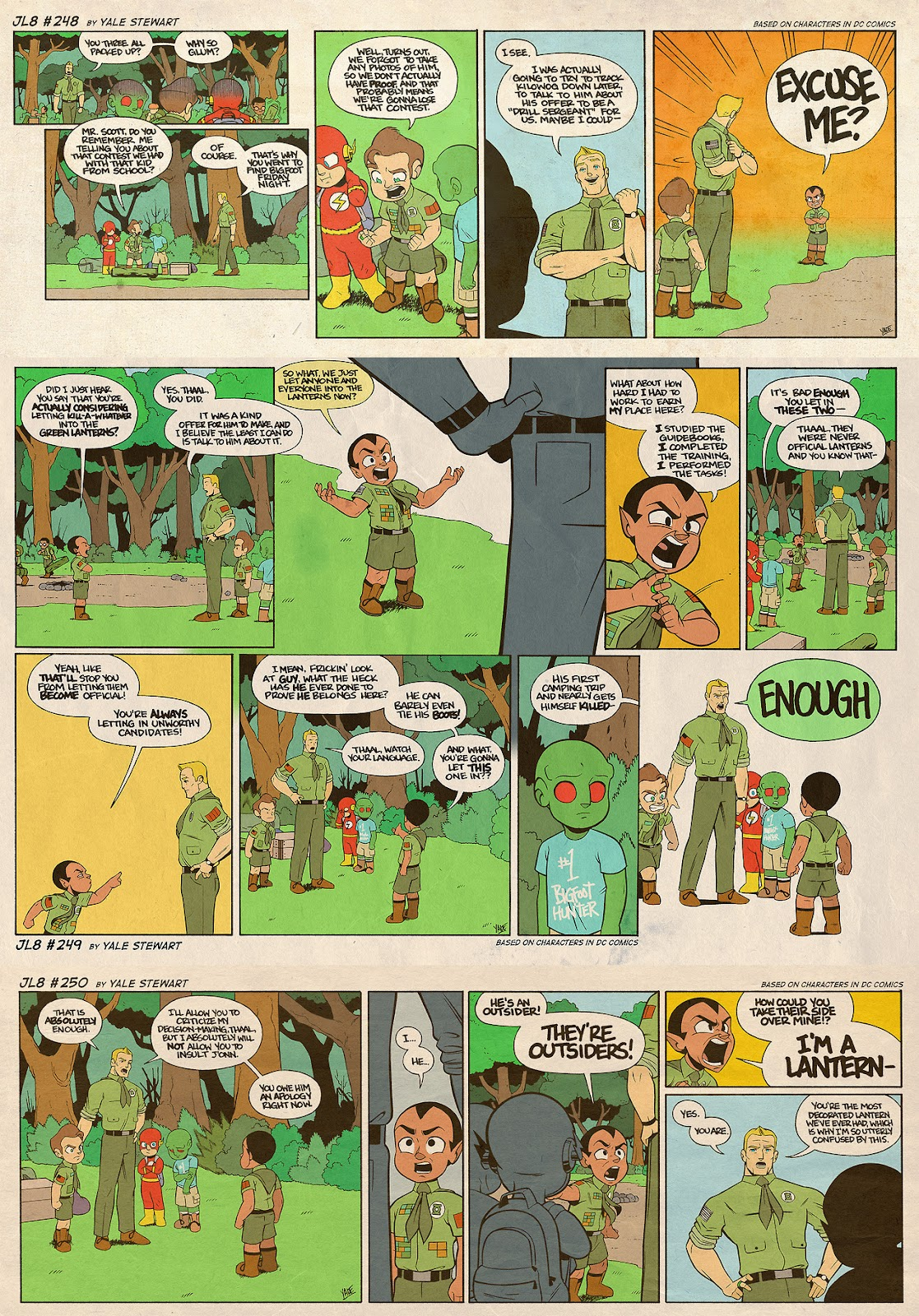 Read online JL8 – The Complete Collection comic -  Issue # TPB (Part 2) - 64