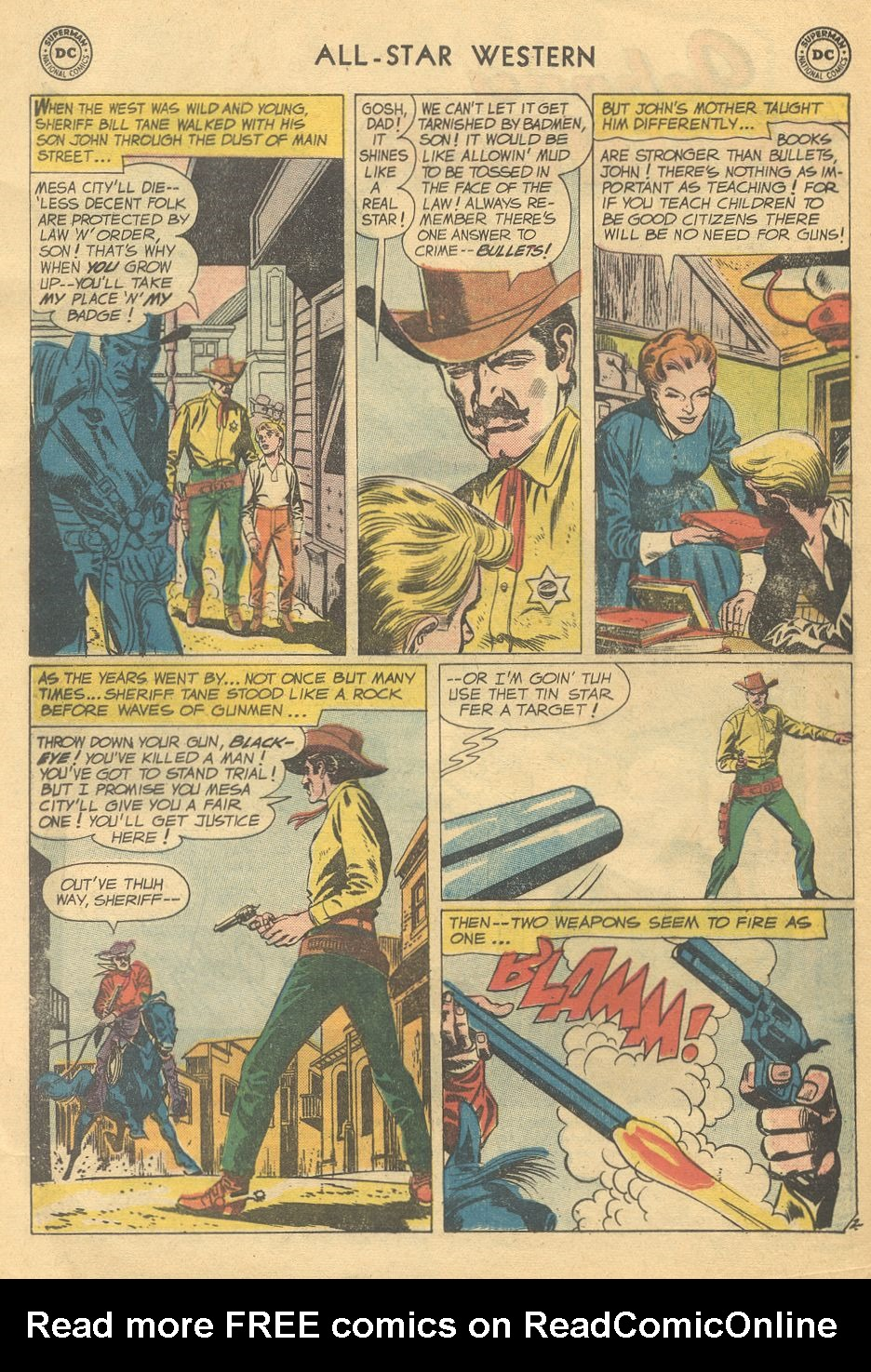 Read online All-Star Western (1951) comic -  Issue #108 - 4