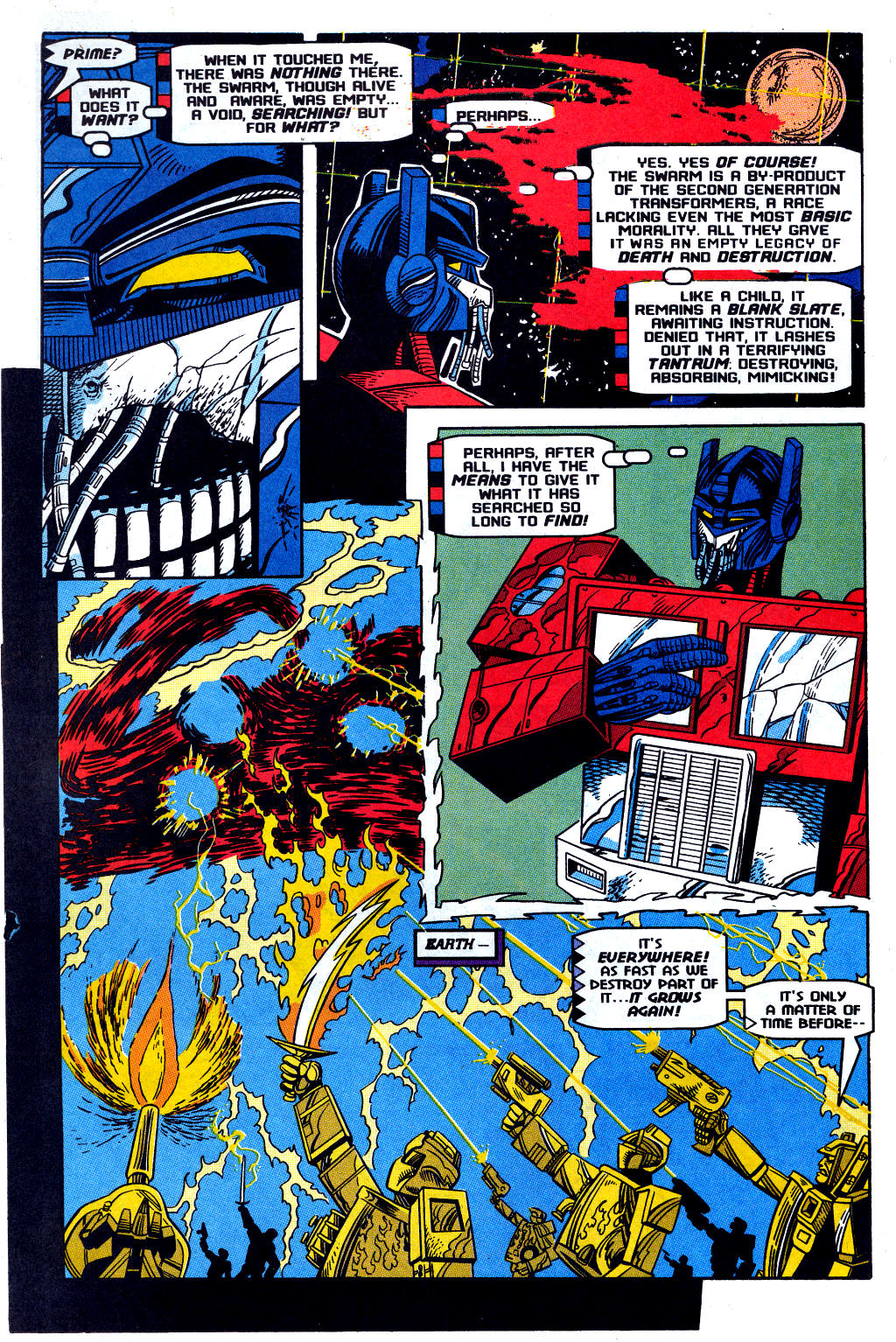 Read online Transformers: Generation 2 comic -  Issue #12 - 26