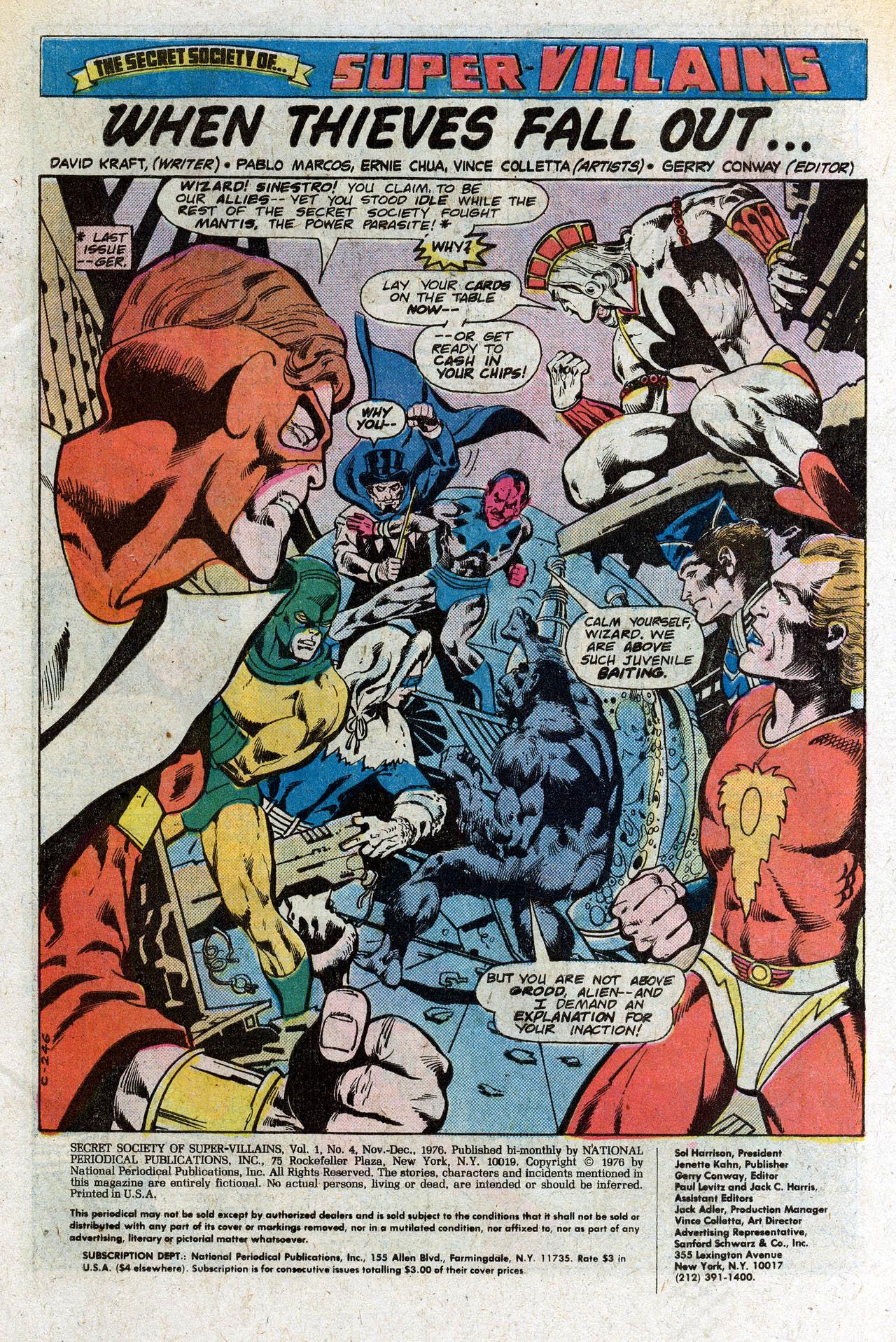 Read online Secret Society of Super-Villains comic -  Issue #4 - 3