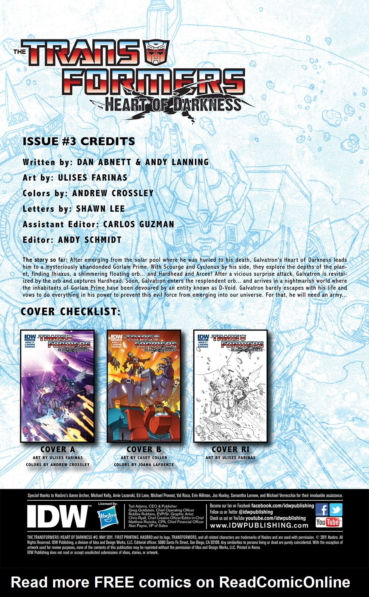 Read online Transformers: Heart of Darkness comic -  Issue #3 - 4