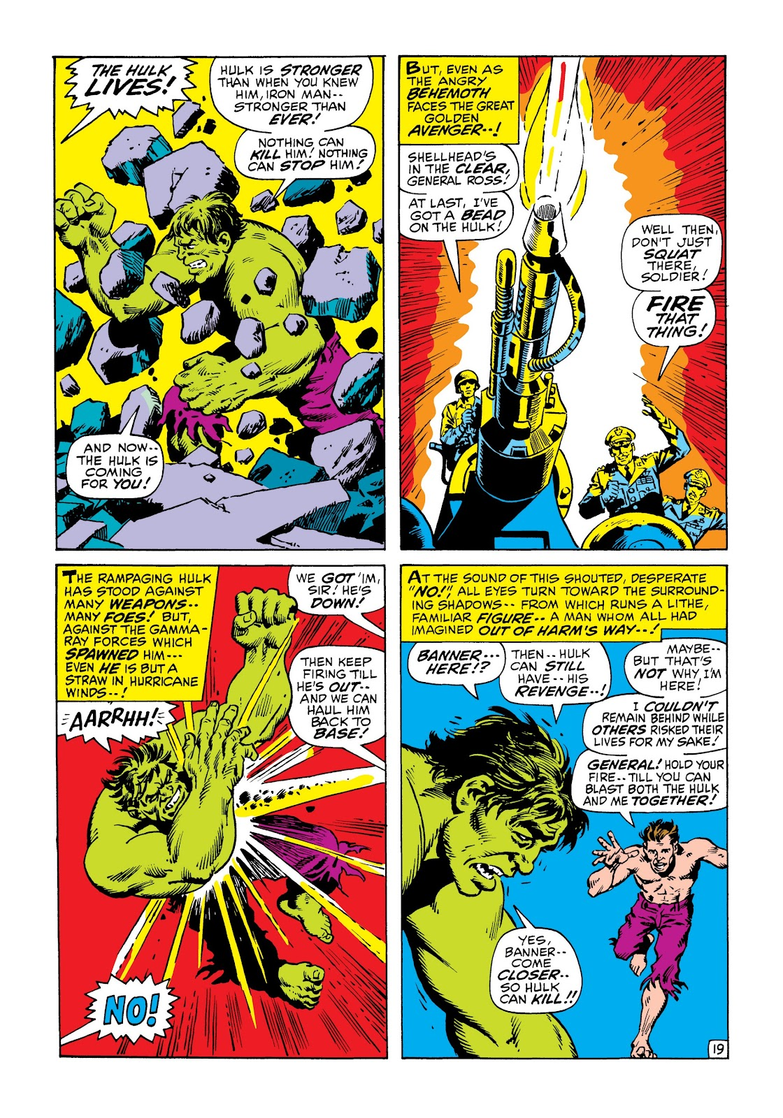 Read online Marvel Masterworks: The Incredible Hulk comic -  Issue # TPB 6 (Part 3) - 12