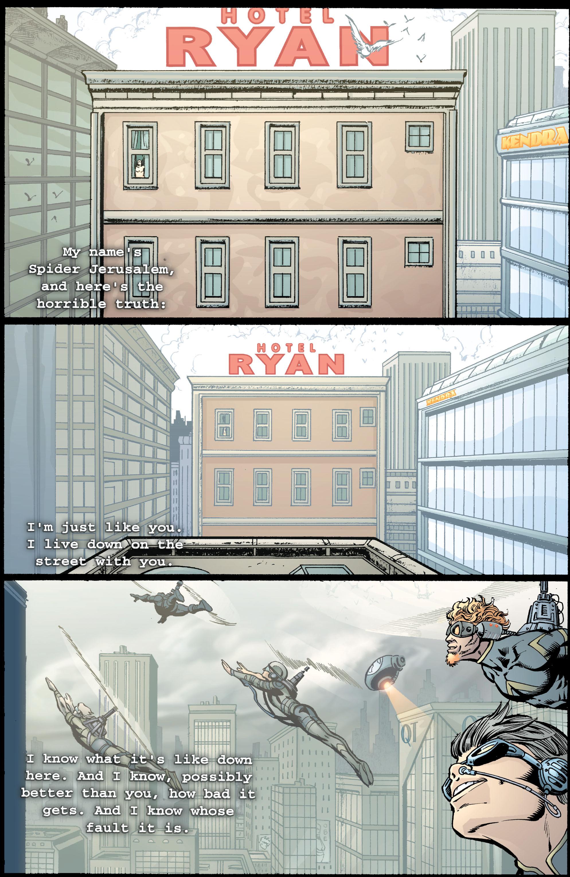Read online Transmetropolitan comic -  Issue #39 - 18
