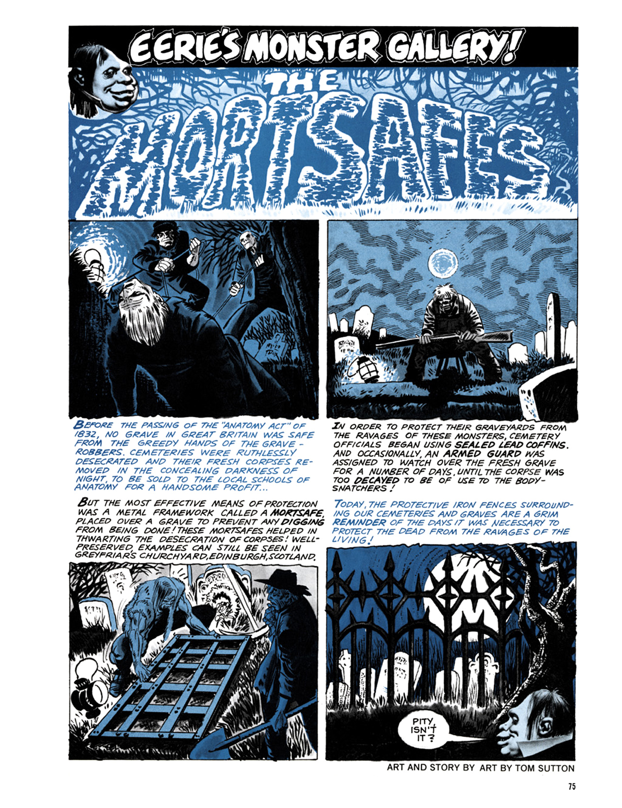 Read online Eerie Archives comic -  Issue # TPB 9 - 76