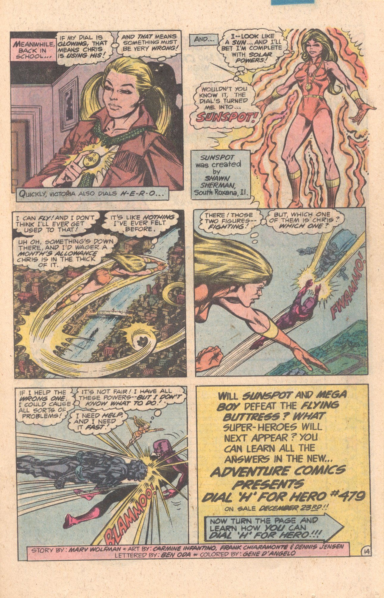 Legion of Super-Heroes (1980) 272 Page 41