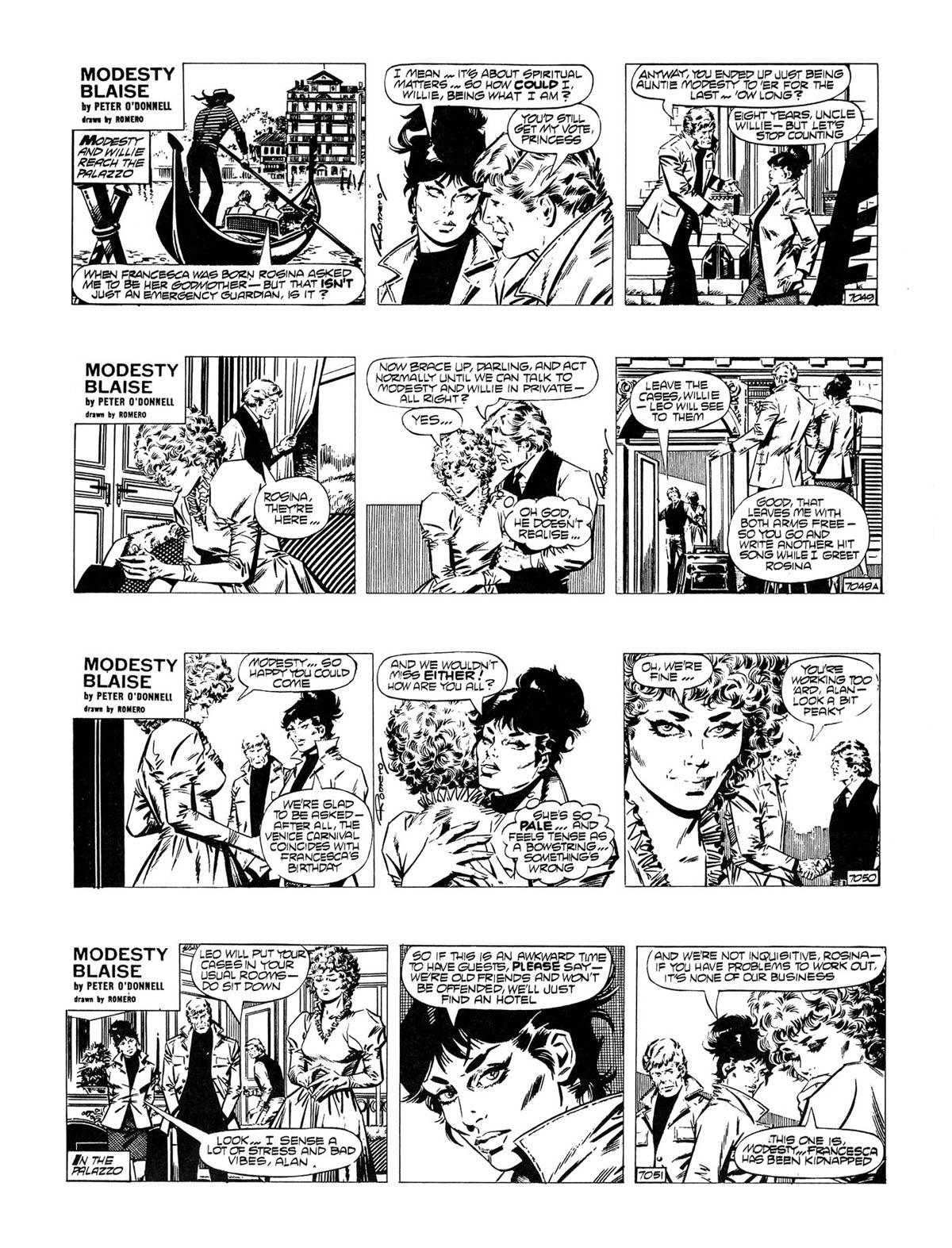 Read online Modesty Blaise Live bait comic -  Issue # TPB - 6
