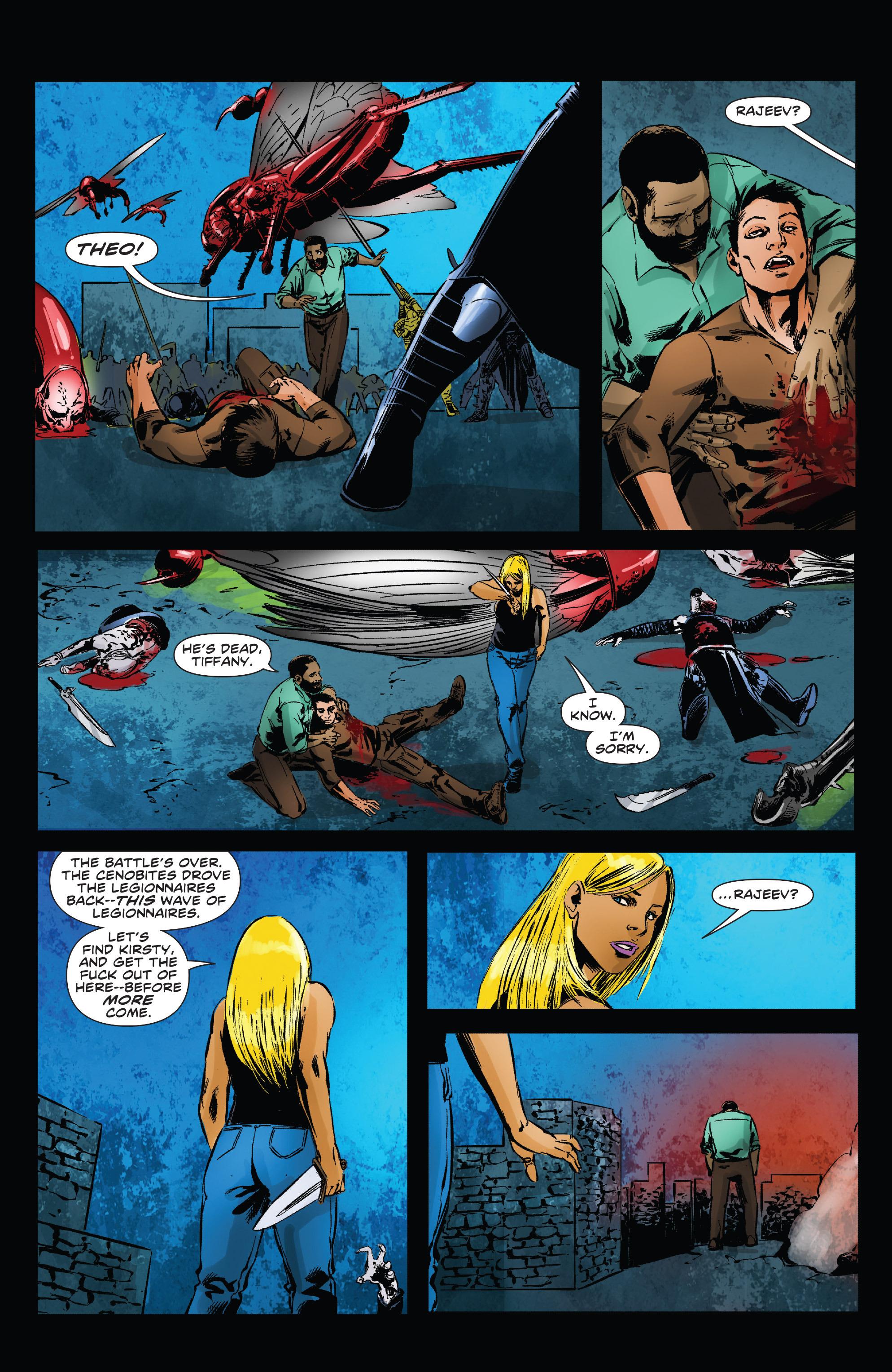 Read online Clive Barker's Hellraiser: The Dark Watch comic -  Issue # TPB 3 - 56