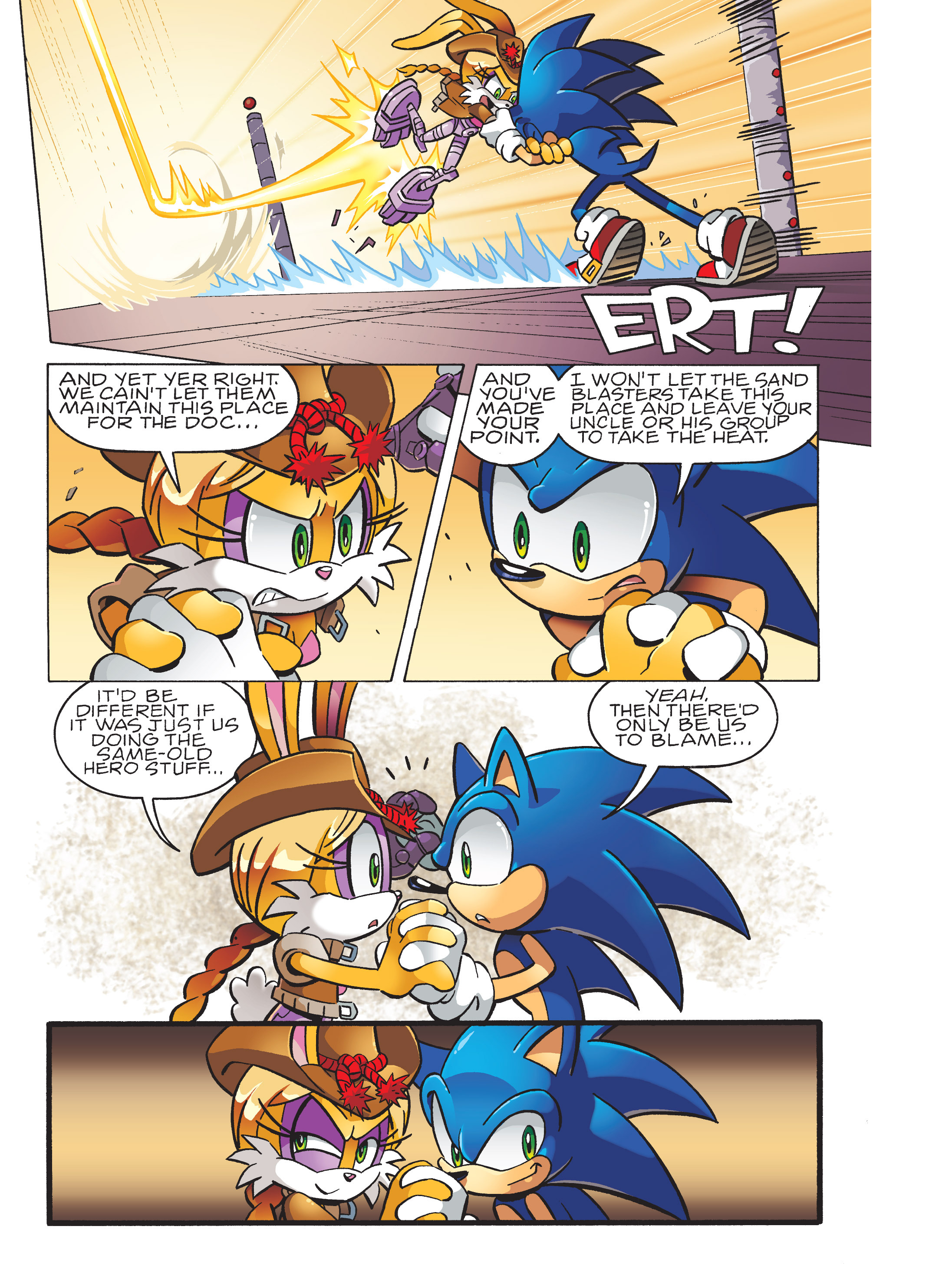 Read online Sonic Super Digest comic -  Issue #10 - 101