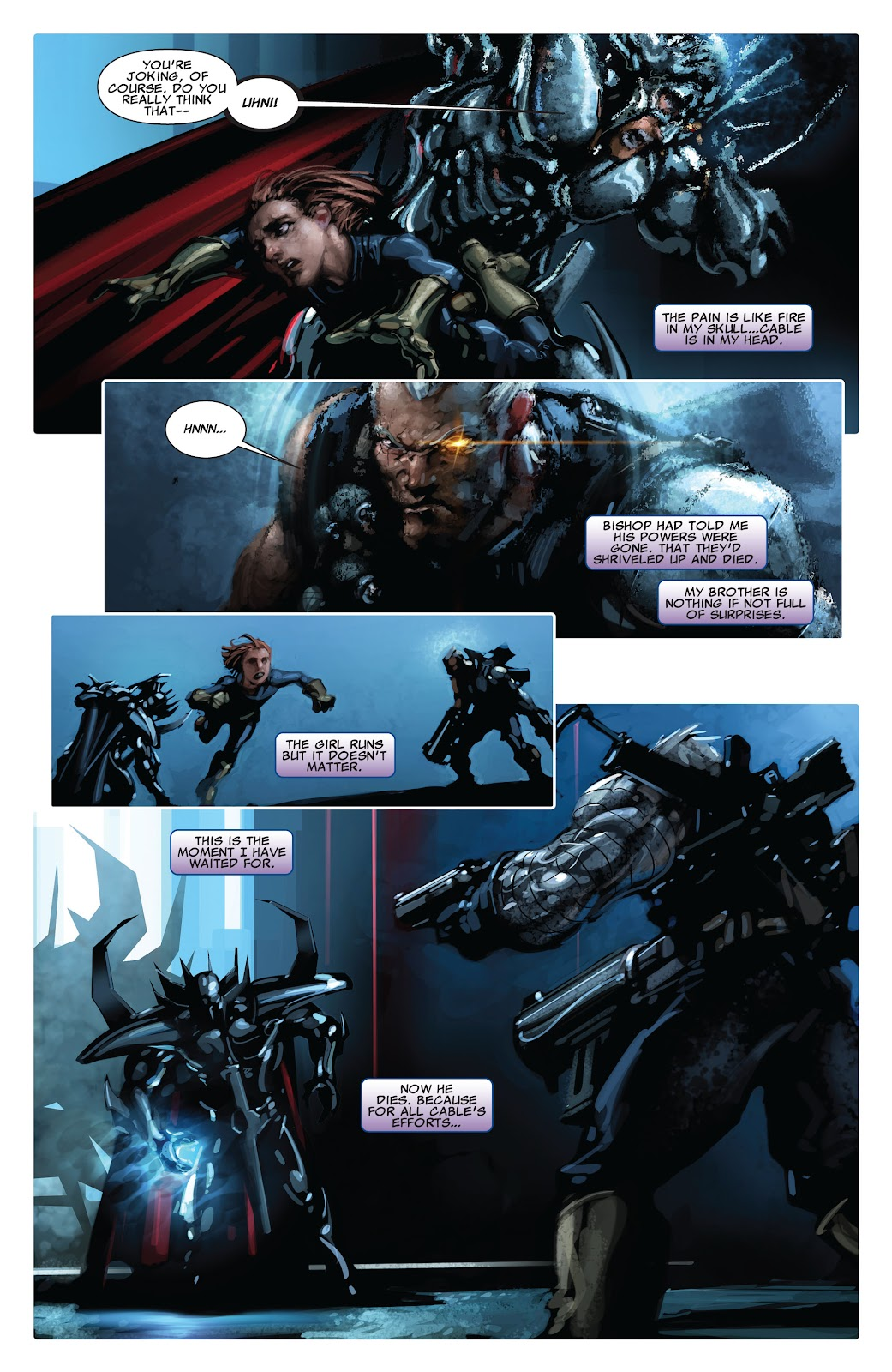 Read online X-Force/Cable: Messiah War comic -  Issue # _TPB (Part 2) - 83