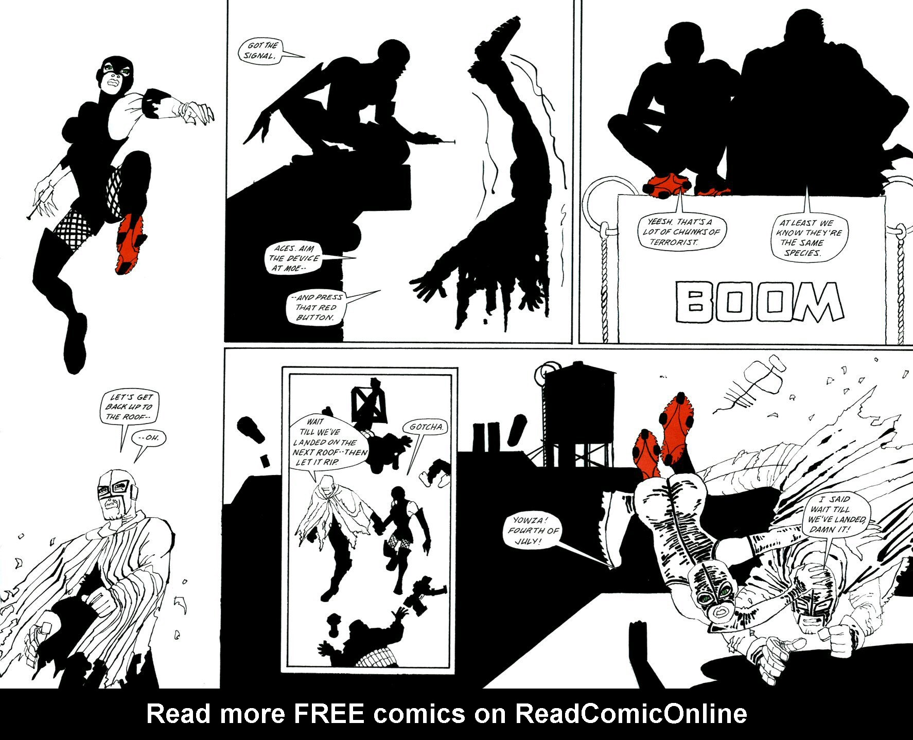 Read online Frank Miller's Holy Terror comic -  Issue # TPB - 84