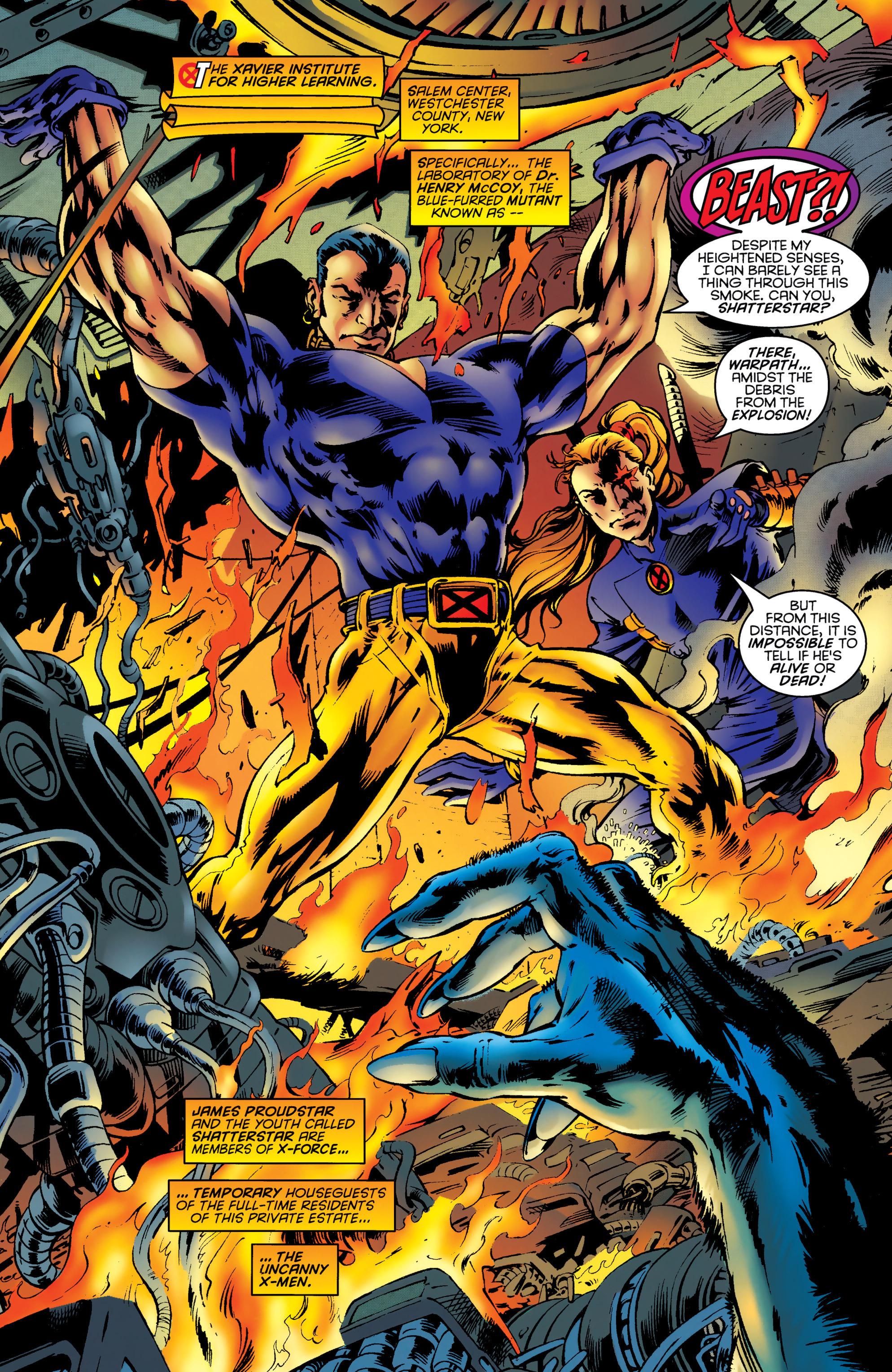 Read online Uncanny X-Men (1963) comic -  Issue #331 - 2