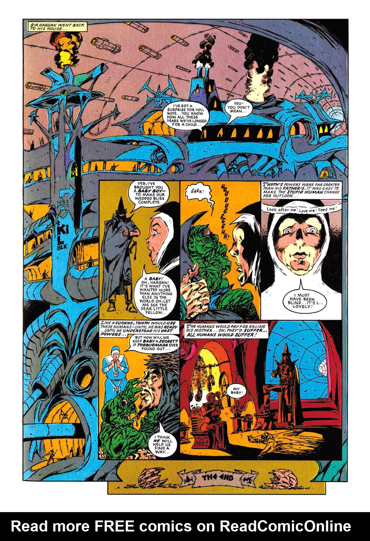 Read online Nemesis The Warlock comic -  Issue # TPB Deviant Edition - 219