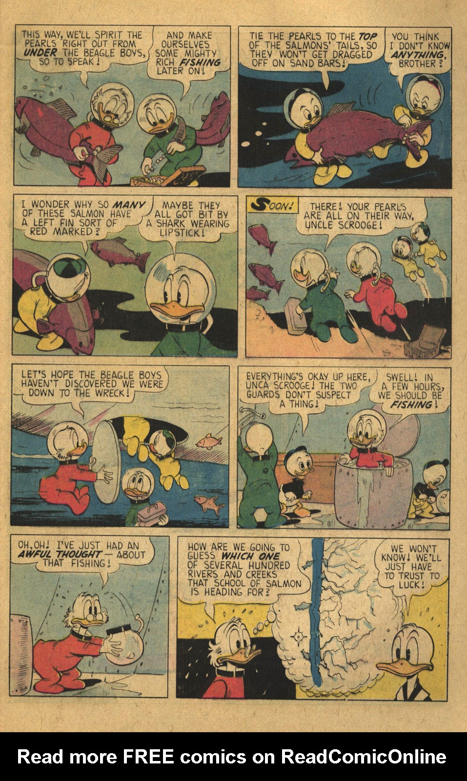 Read online Uncle Scrooge (1953) comic -  Issue #136 - 9