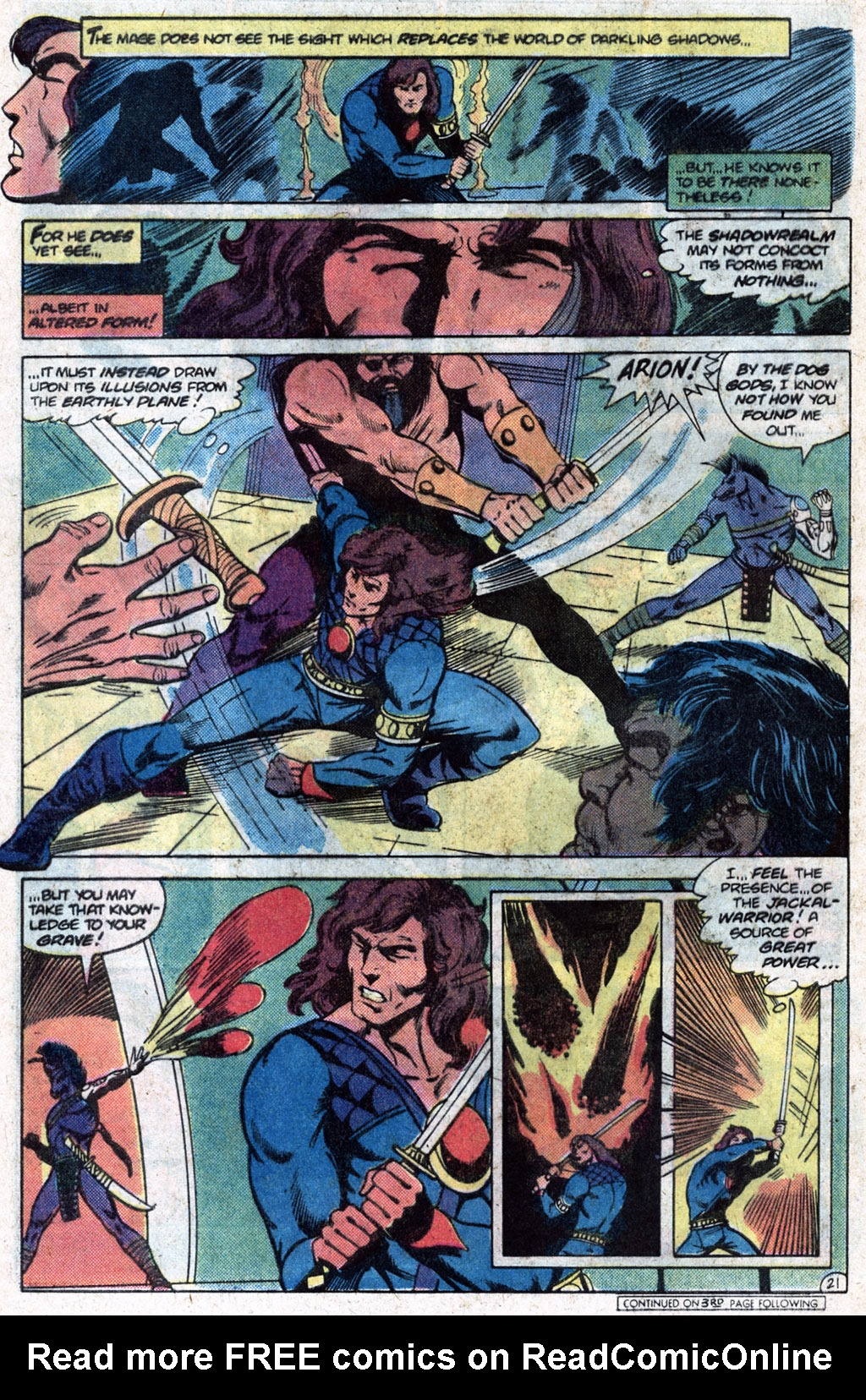 Read online Arion, Lord of Atlantis comic -  Issue #12 - 23