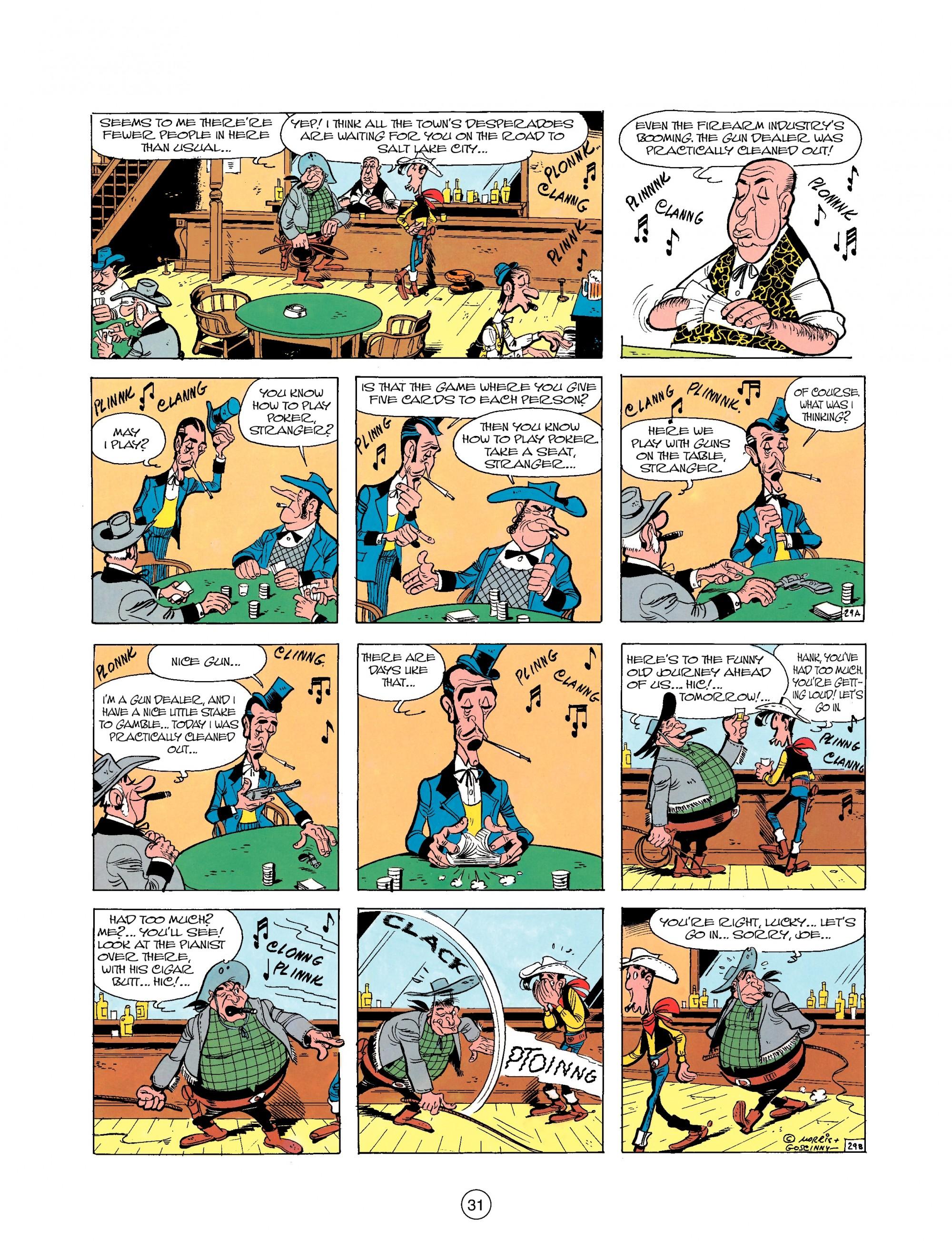 Read online A Lucky Luke Adventure comic -  Issue #25 - 31