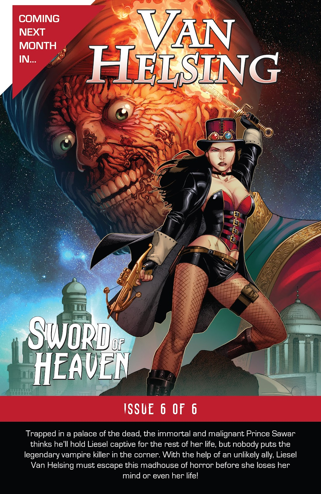 Read online Van Helsing: Sword of Heaven comic -  Issue #5 - 25