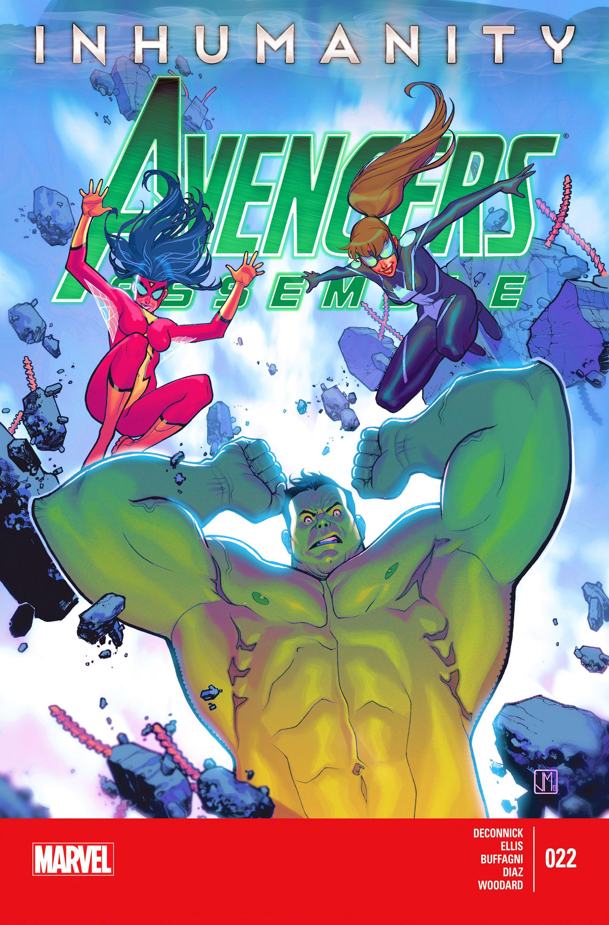 Avengers Assemble (2012) 22 Page 1
