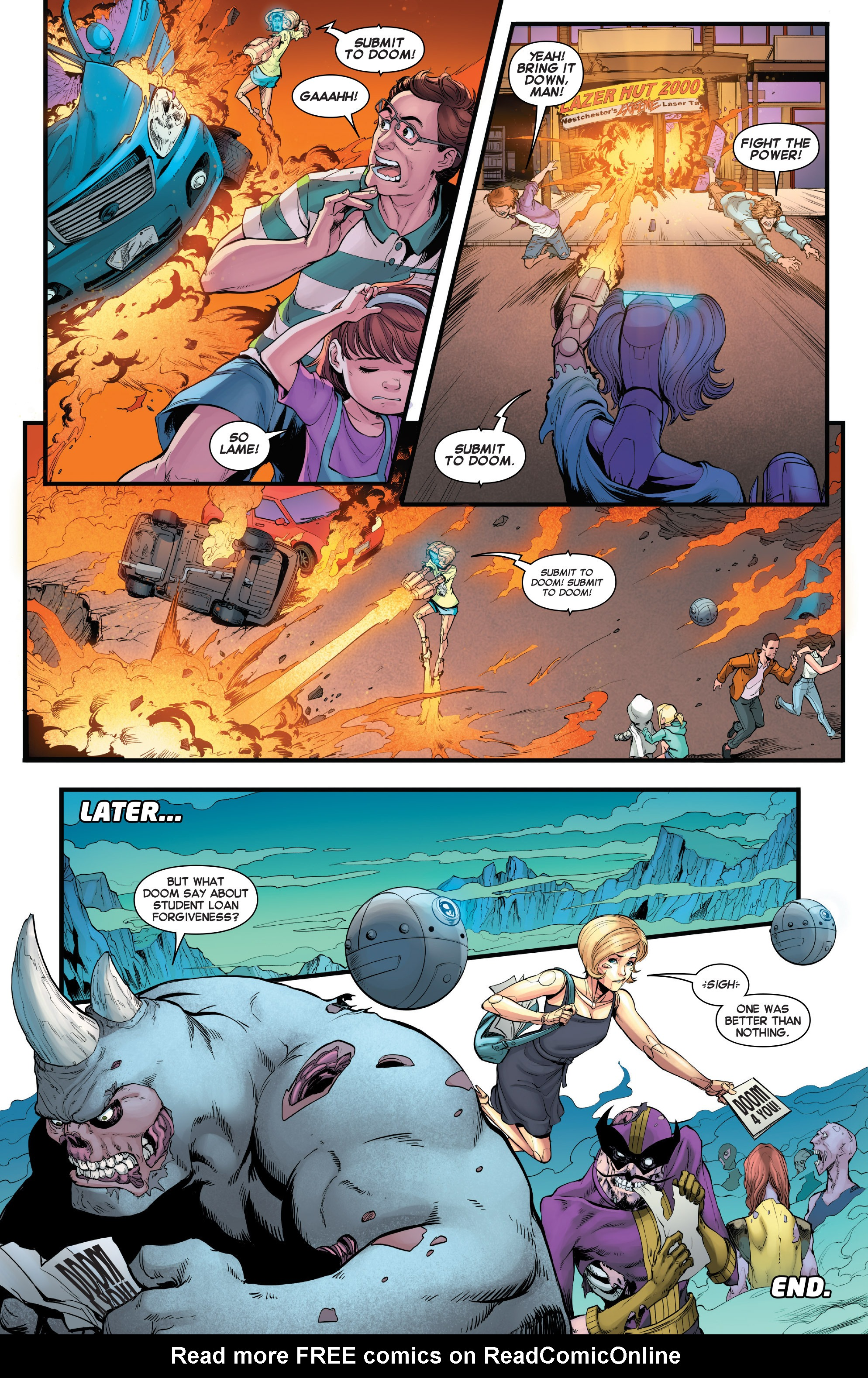 Read online Secret Wars Journal/Battleworld comic -  Issue # TPB - 87