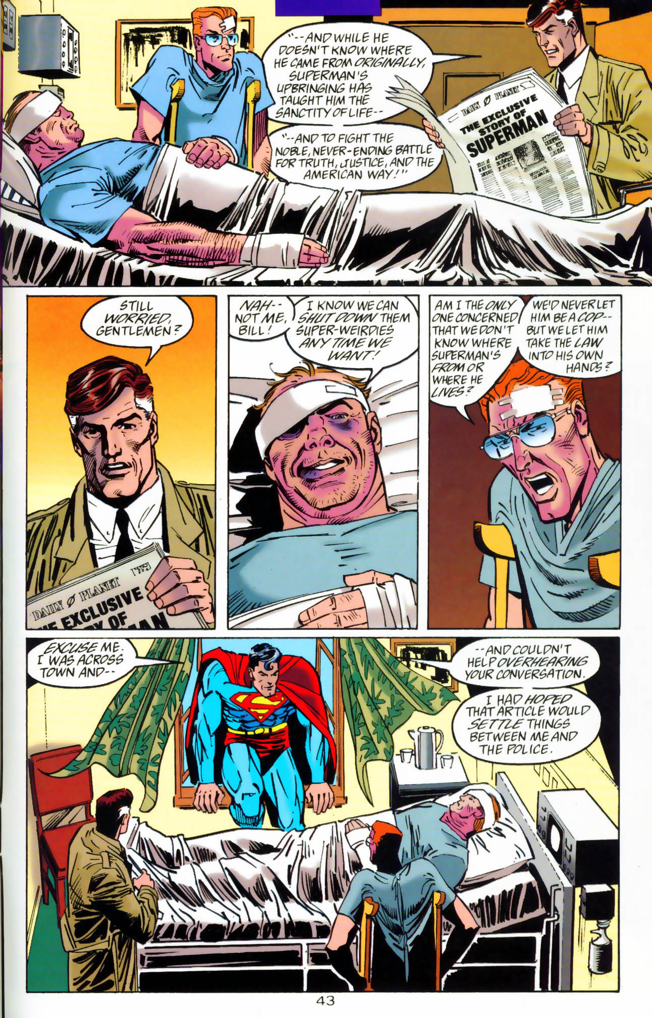 Read online Adventures of Superman (1987) comic -  Issue #Adventures of Superman (1987) _Annual 7 - 44