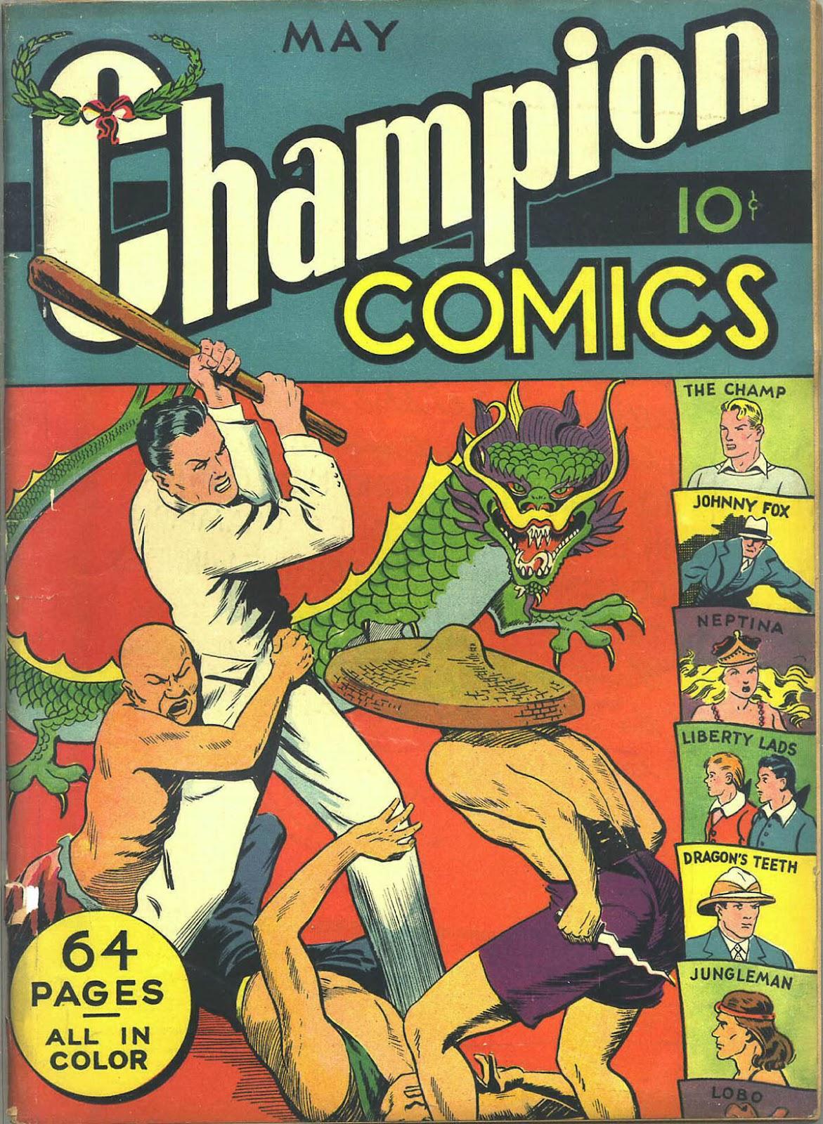 Champion Comics issue 7 - Page 1
