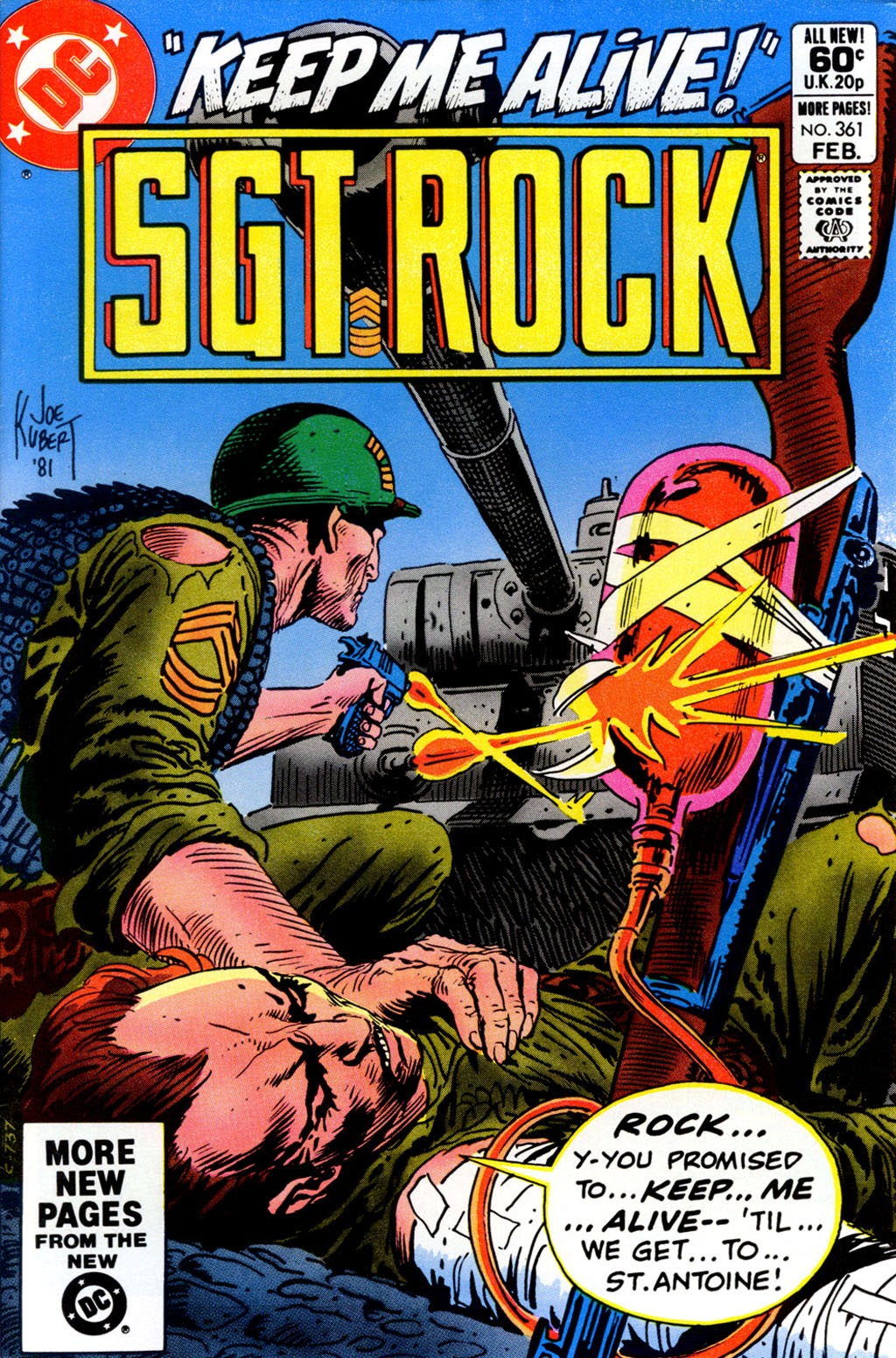 Sgt. Rock issue 361 - Page 1