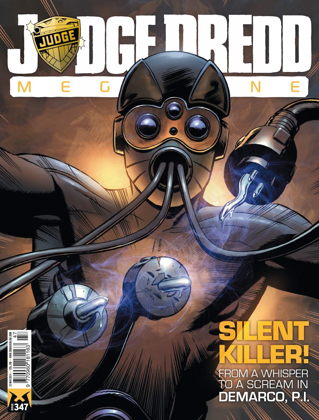 Judge Dredd Megazine (Vol. 5) issue 347 - Page 1