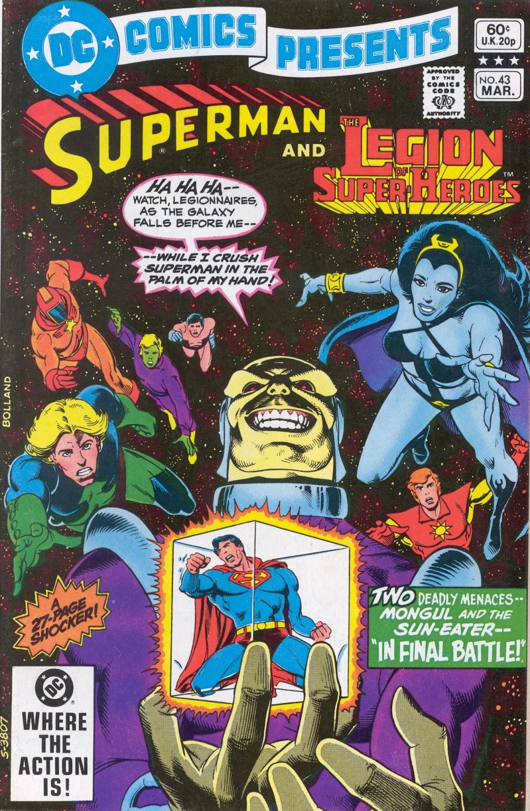 DC Comics Presents (1978) 43 Page 1
