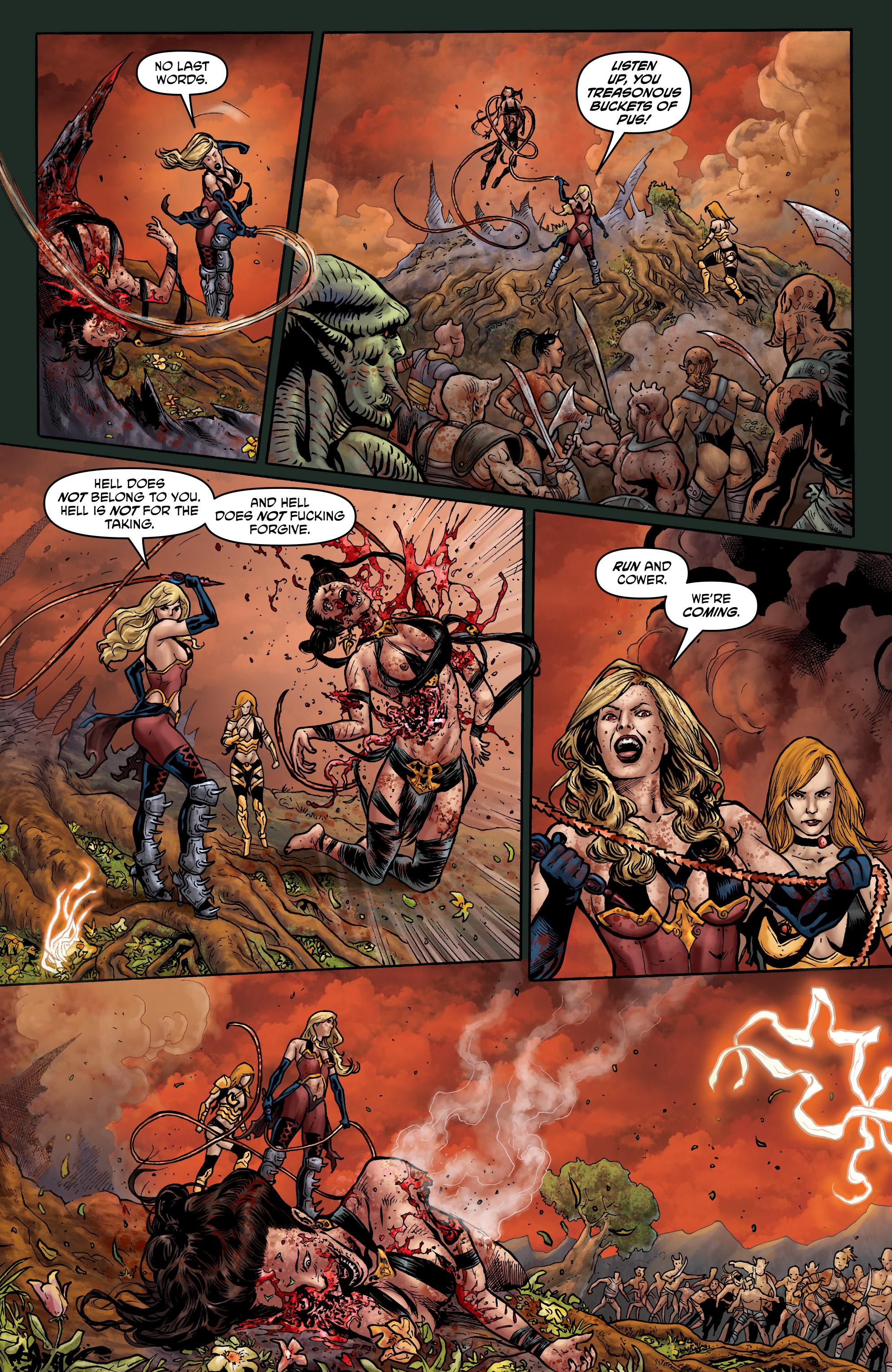 Read online Hellina: Scythe comic -  Issue #4 - 15
