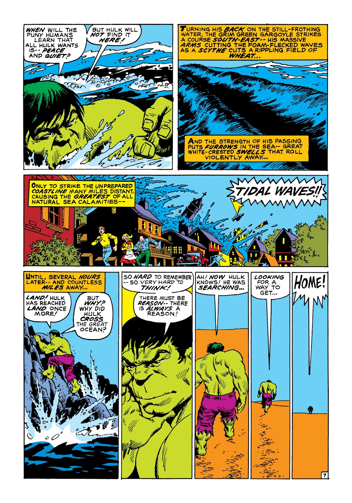 Read online Marvel Masterworks: The Incredible Hulk comic -  Issue # TPB 8 (Part 1) - 14