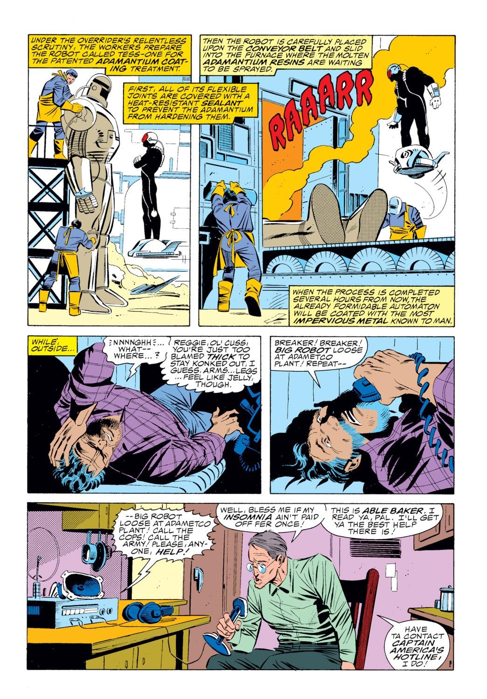 Read online Captain America (1968) comic -  Issue # _Annual 8 - 22