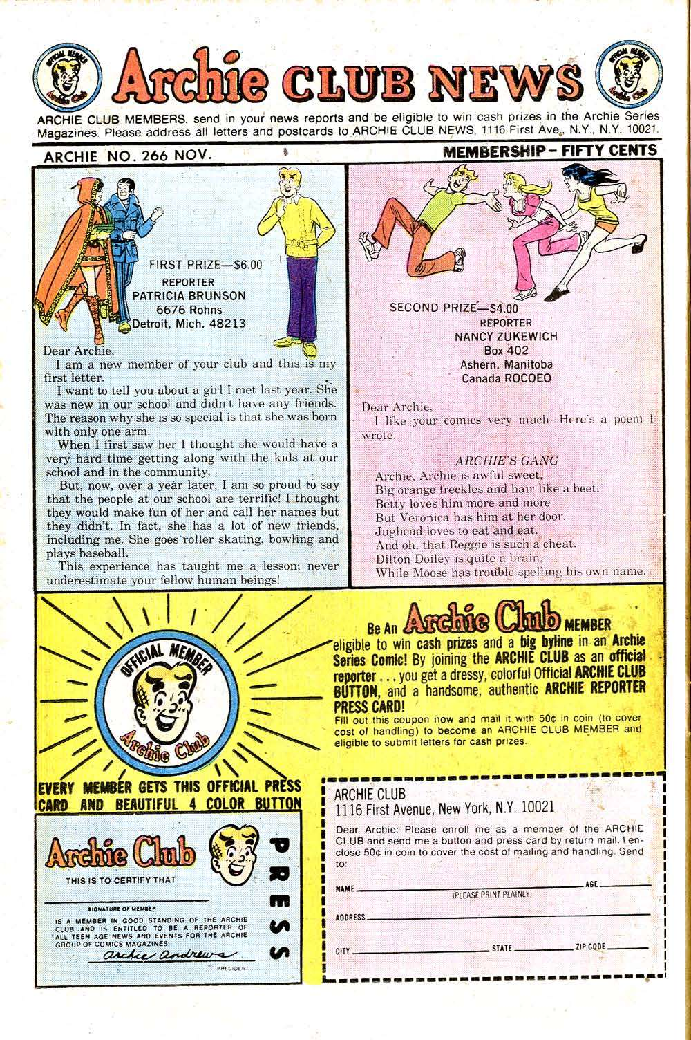 Read online Archie (1960) comic -  Issue #266 - 26