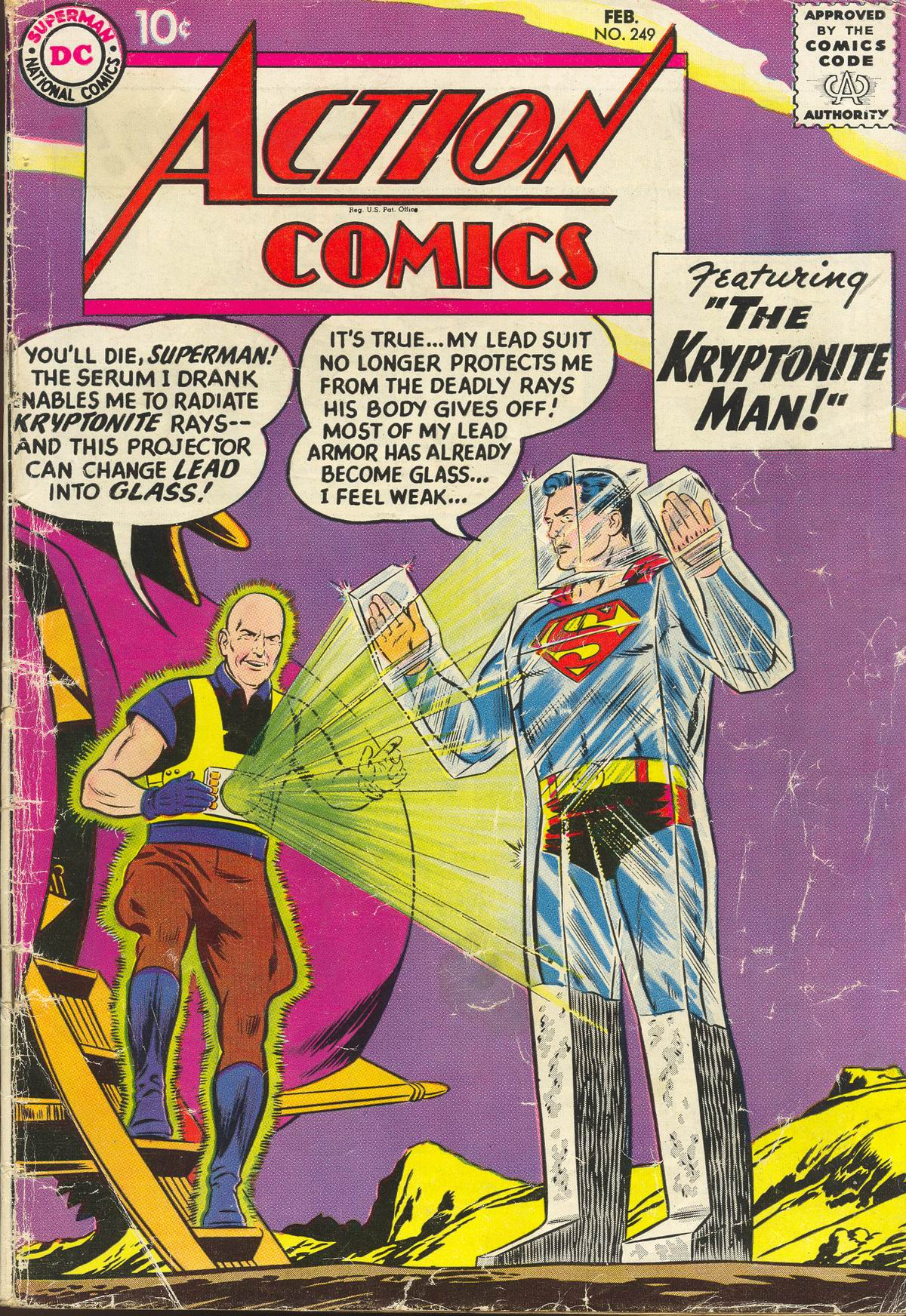 Read online Action Comics (1938) comic -  Issue #249 - 1