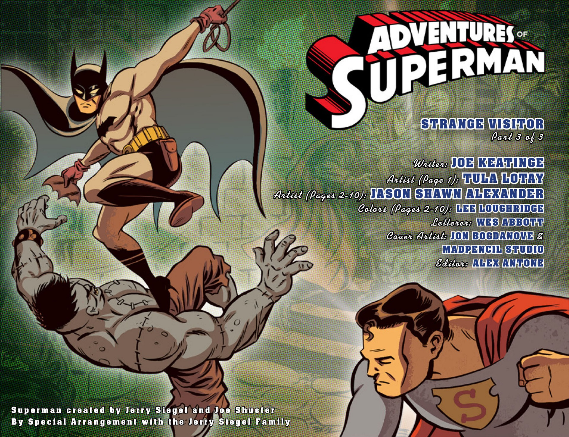 Read online Adventures of Superman [I] comic -  Issue #48 - 2