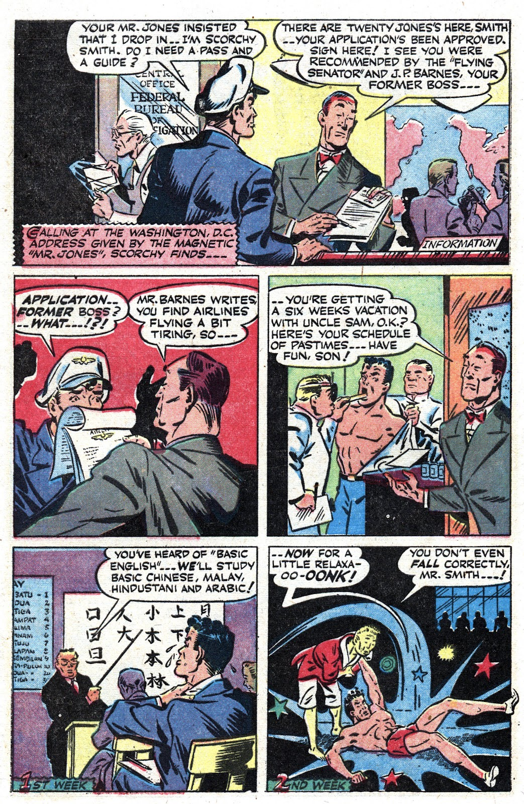 Read online Famous Funnies comic -  Issue #157 - 40
