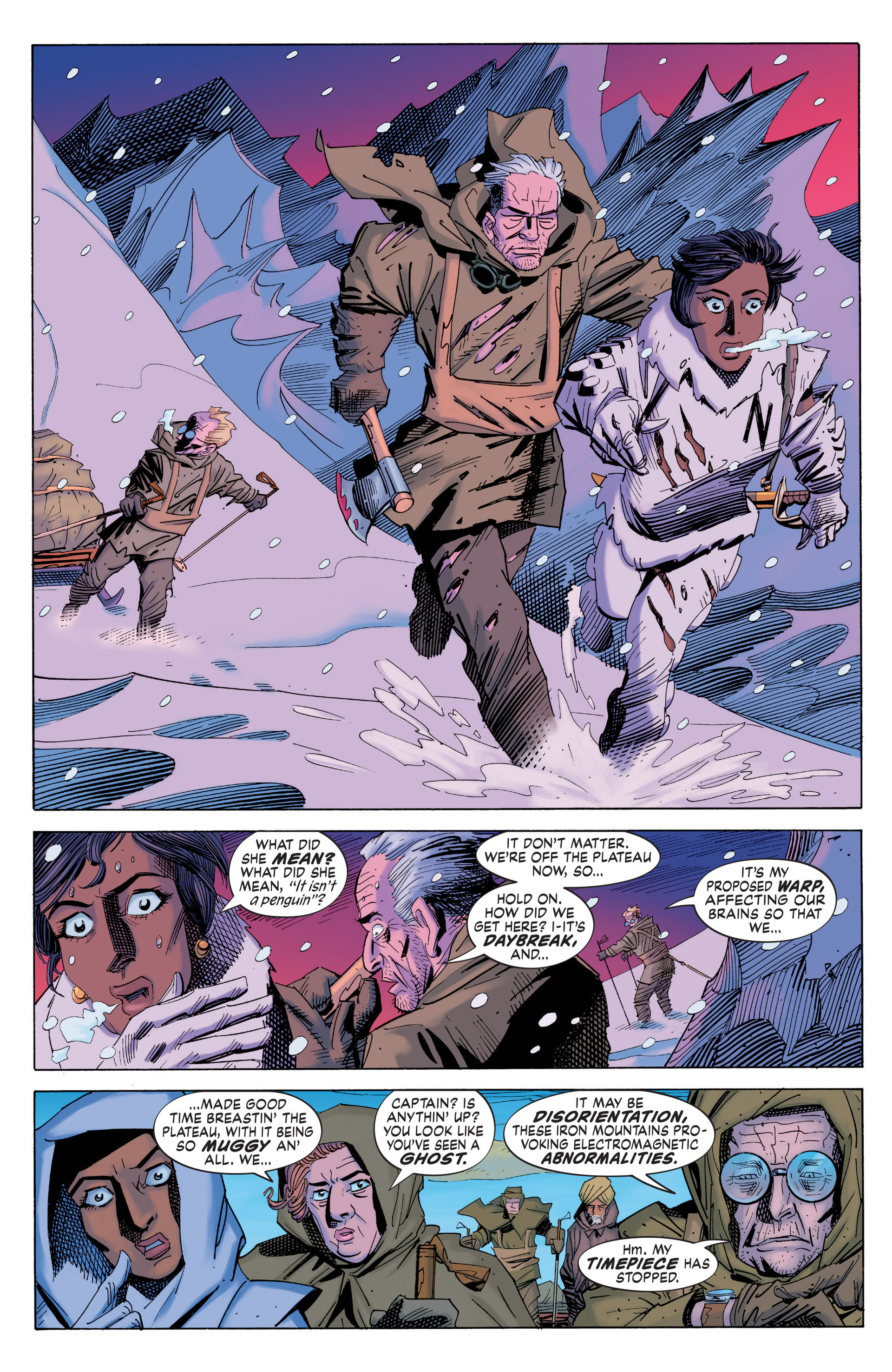 Read online Nemo: Heart of Ice comic -  Issue # Full - 30