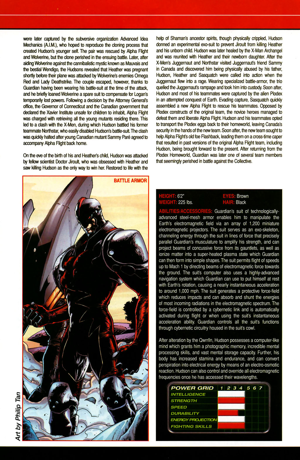 Read online All-New Official Handbook of the Marvel Universe A to Z comic -  Issue #5 - 12