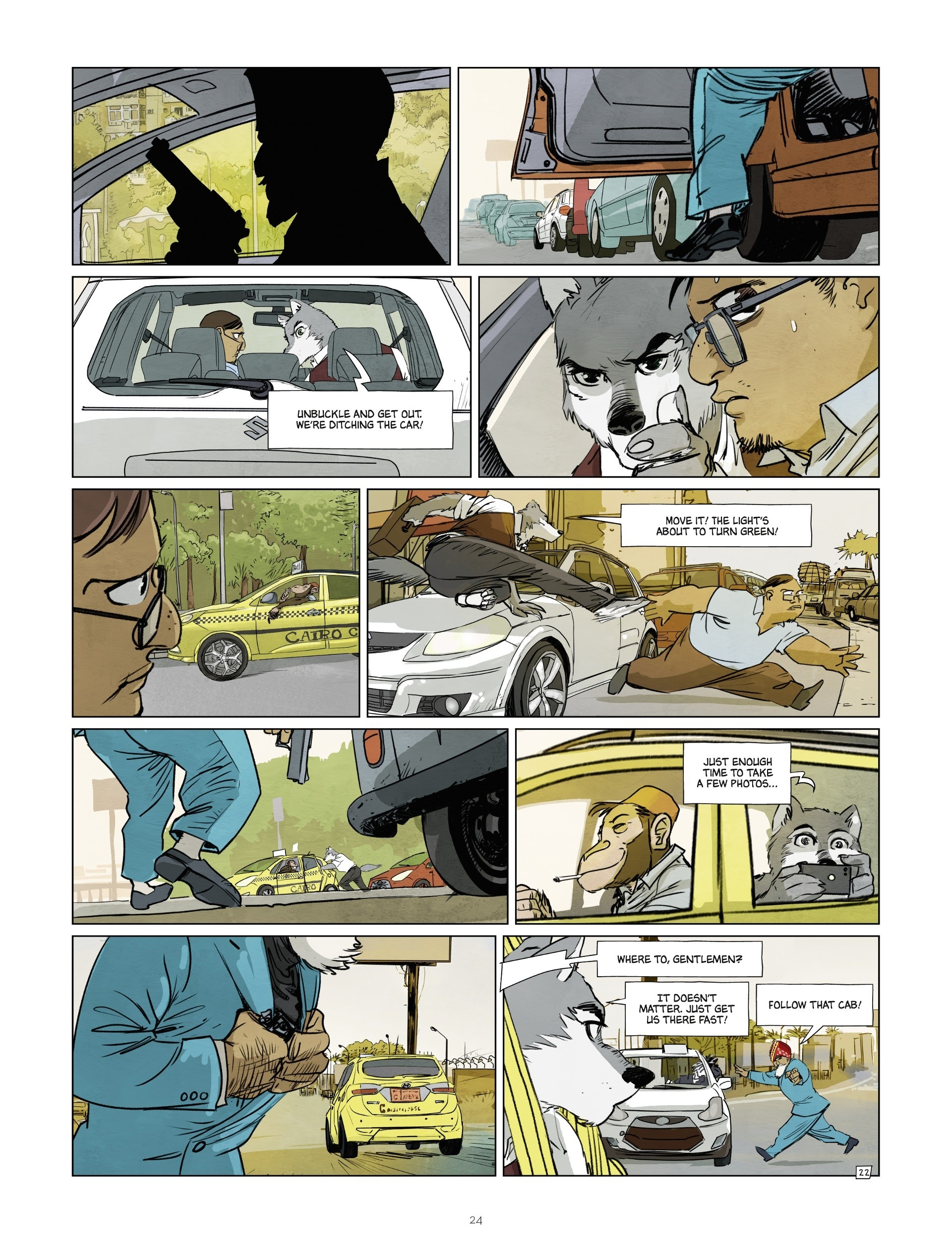 Read online Jack Wolfgang comic -  Issue #3 - 26