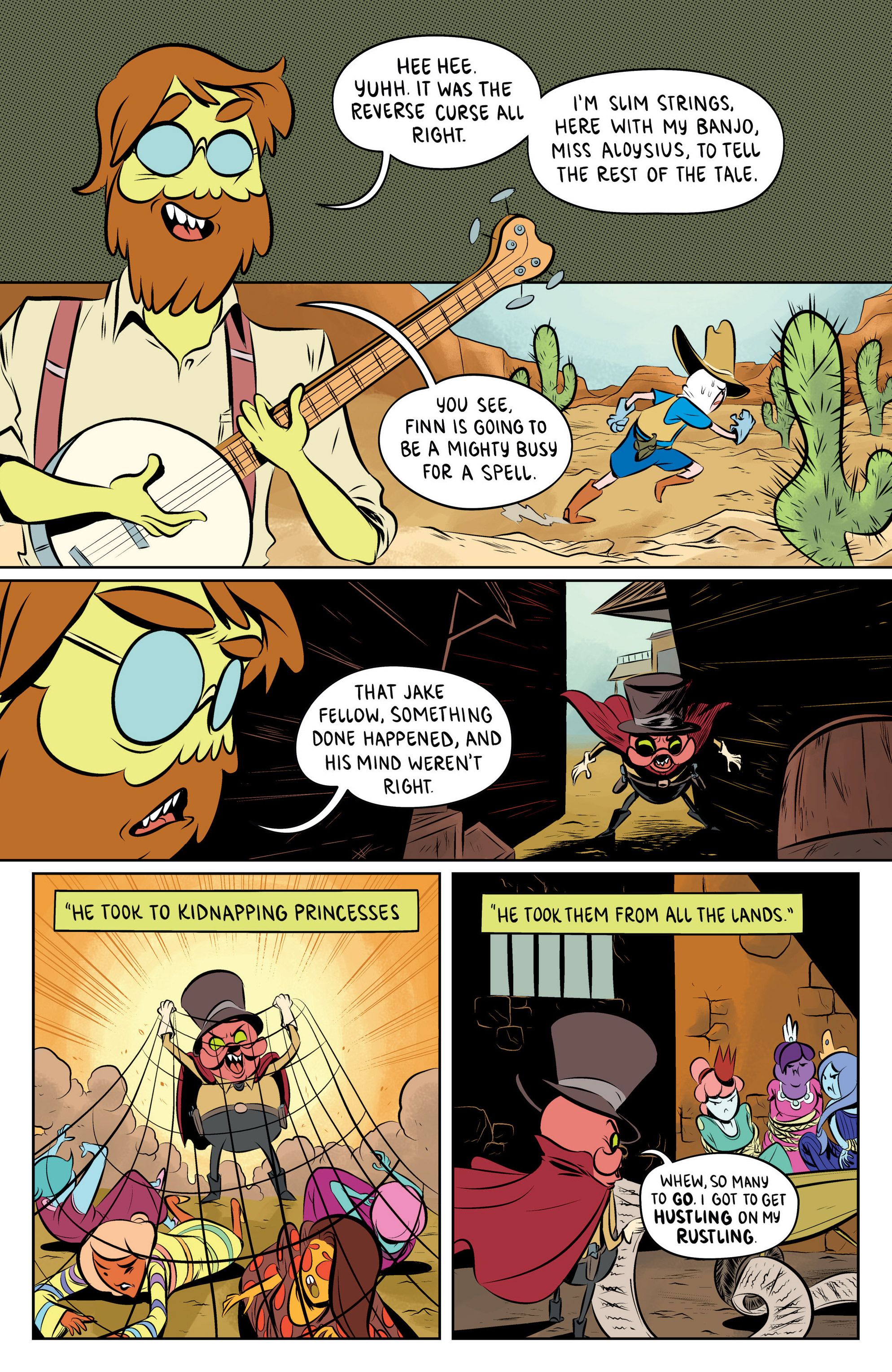 Read online Adventure Time: The Flip Side comic -  Issue #5 - 18