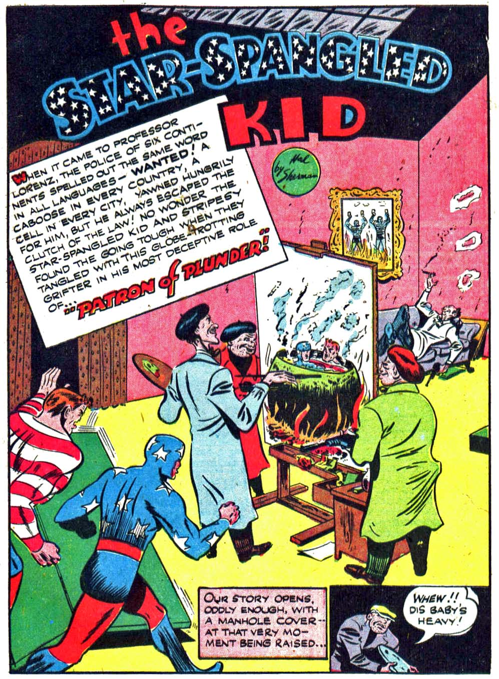 Star Spangled Comics (1941) issue 27 - Page 17