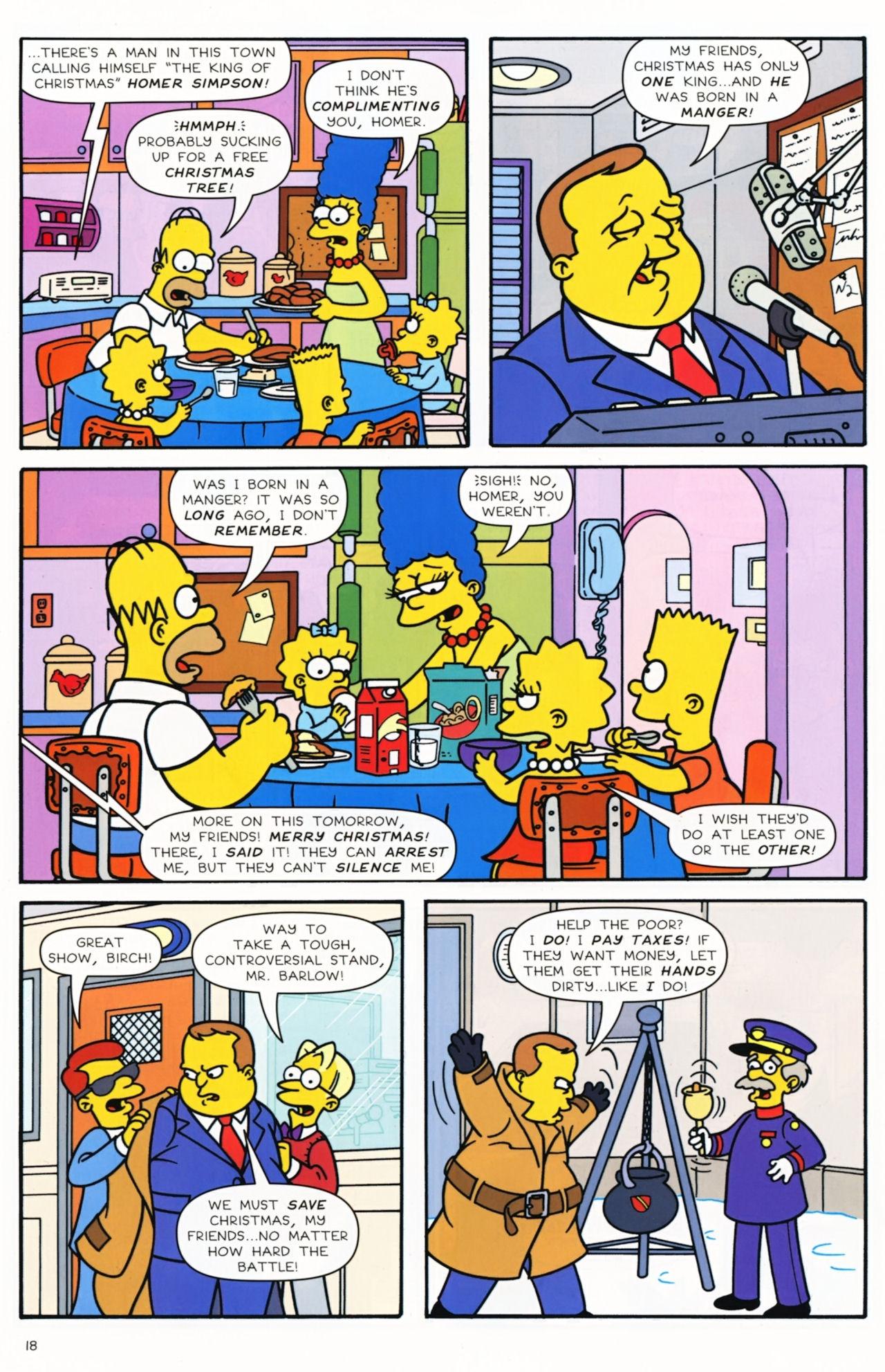 Read online Simpsons Comics comic -  Issue #172 - 20