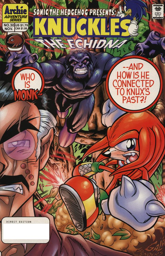 Knuckles the Echidna issue 30 - Page 1
