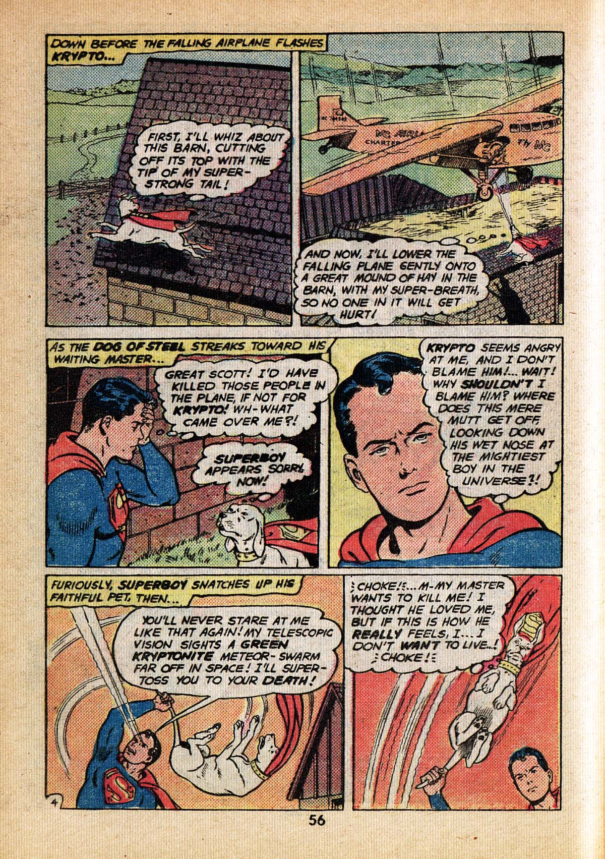 Read online Adventure Comics (1938) comic -  Issue #495 - 56