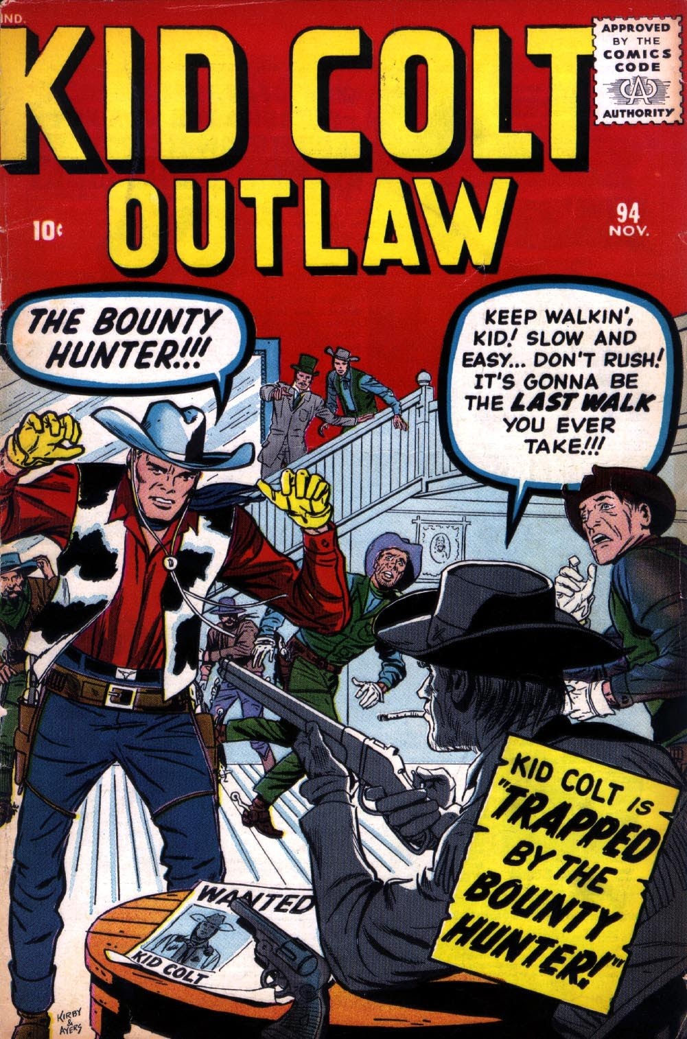 Kid Colt Outlaw issue 94 - Page 1