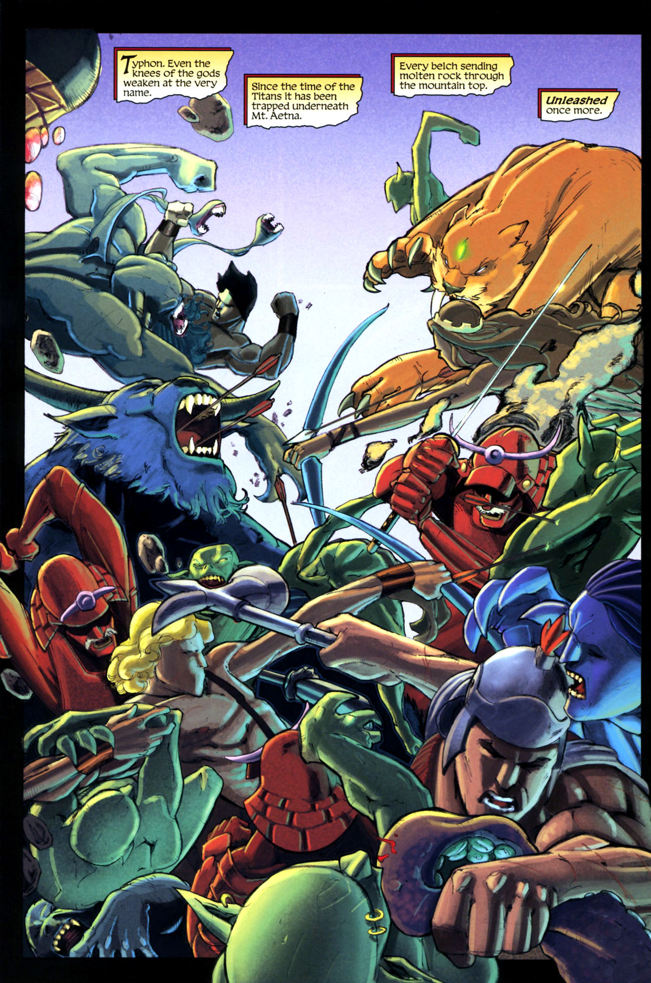 Read online Wrath of the Titans comic -  Issue #3 - 19