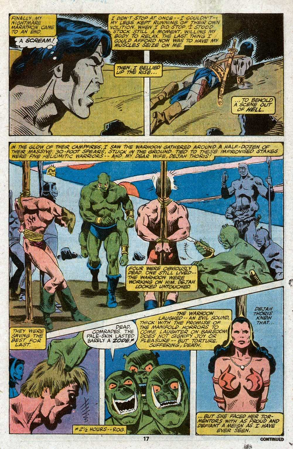 John Carter Warlord of Mars issue 27 - Page 19